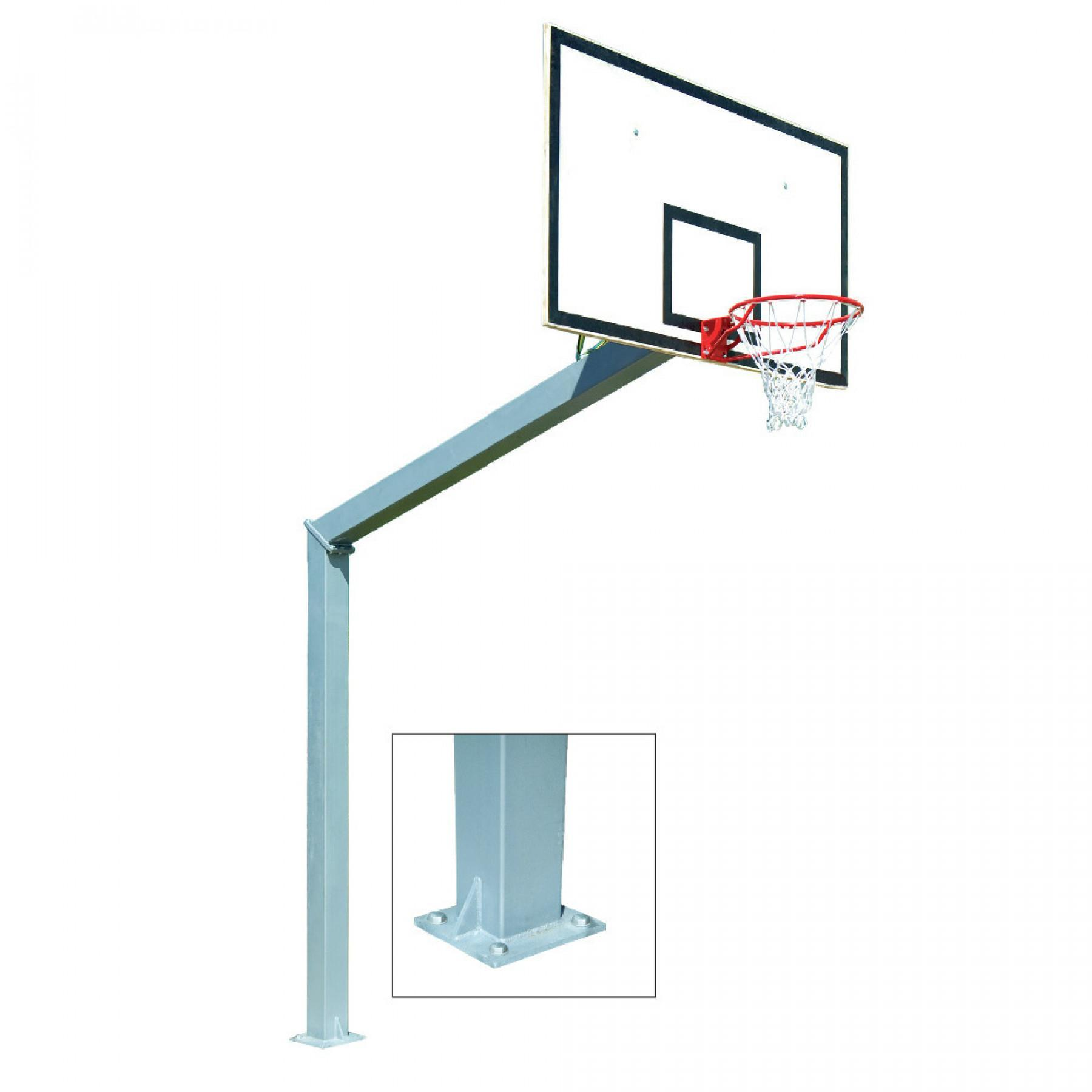 Outdoor basketball goal with 3.05m Power Shot foot