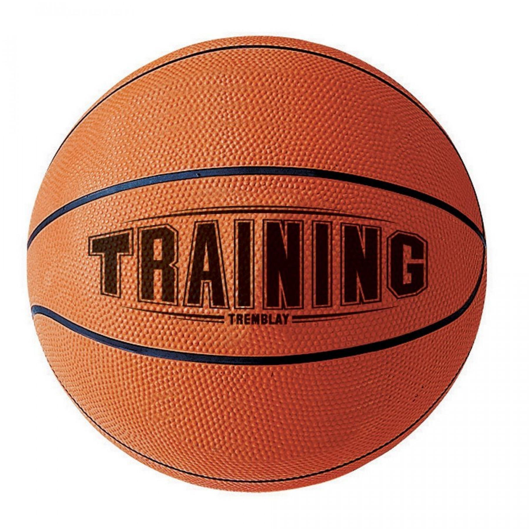 Tremblay training basketball
