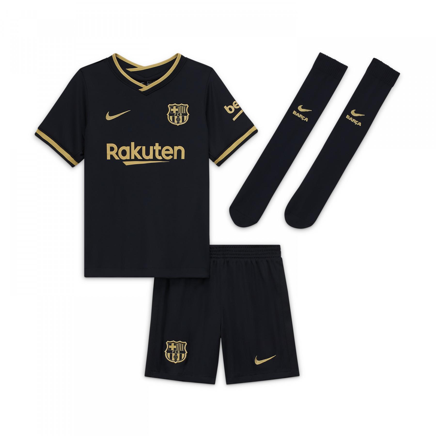 FC Barcelona away kid kit 2020/21