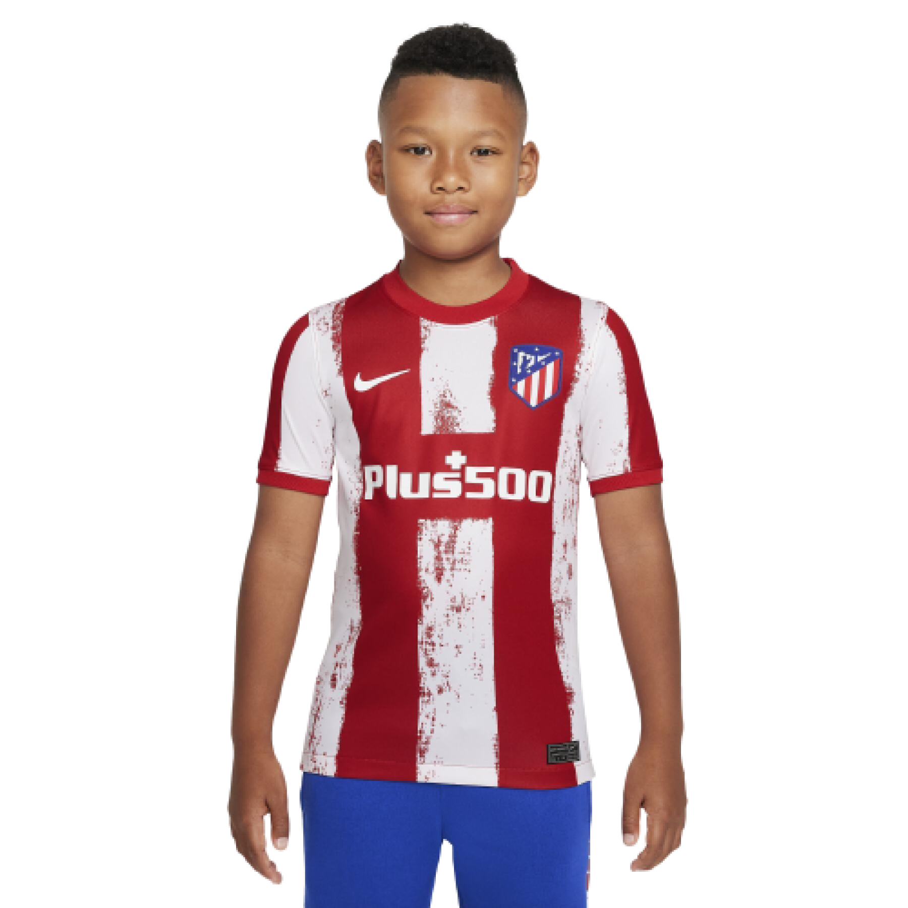 Children's home jersey Atlético Madrid 2021/22