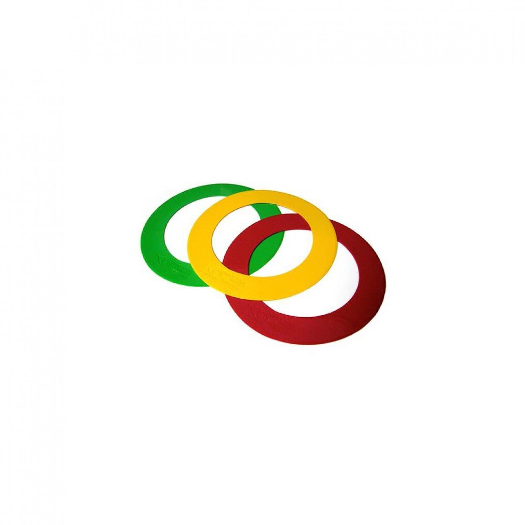 Set of 3 rings EyeLine Golf 38cm
