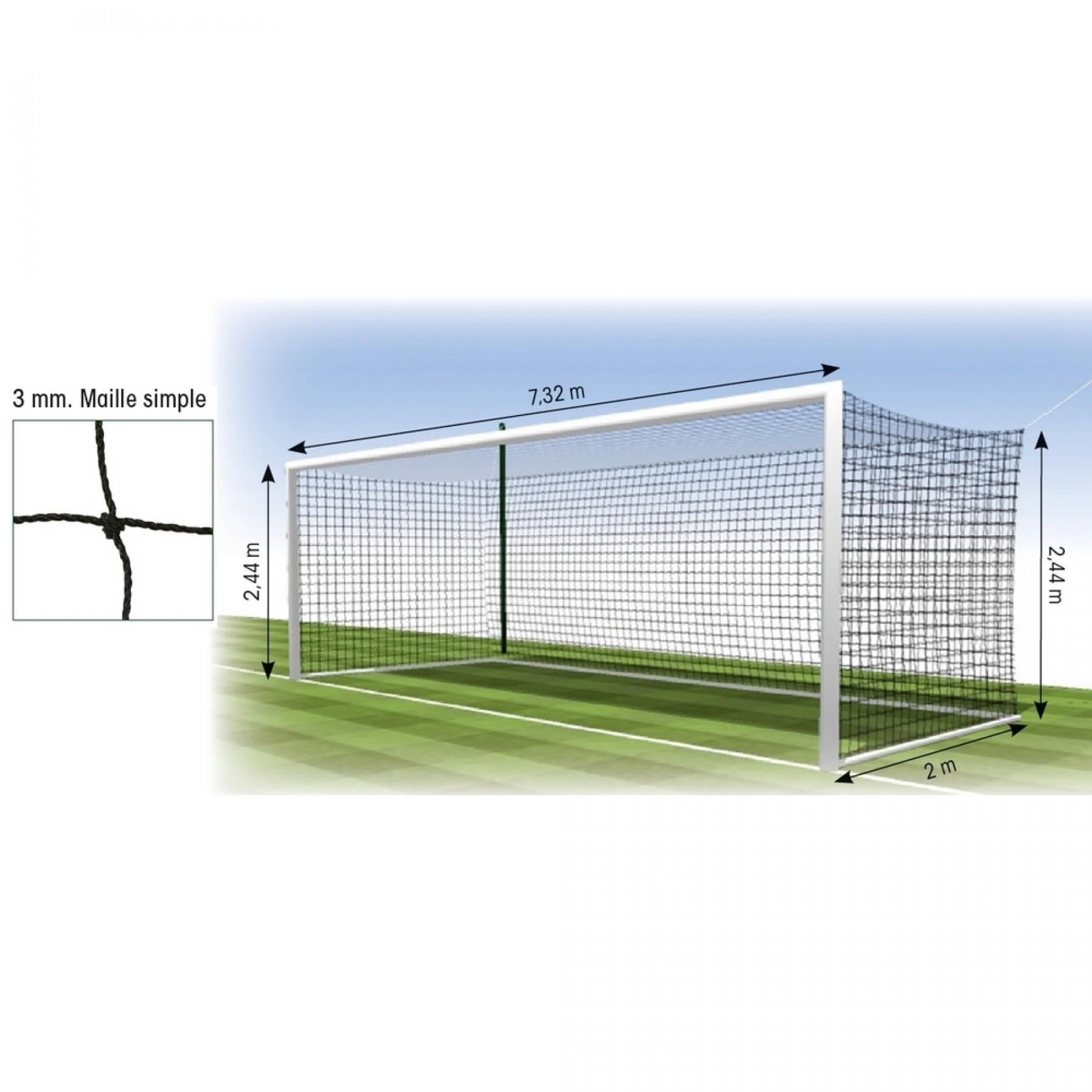 Net European football 3mm Tremblay MS 145 (x2)