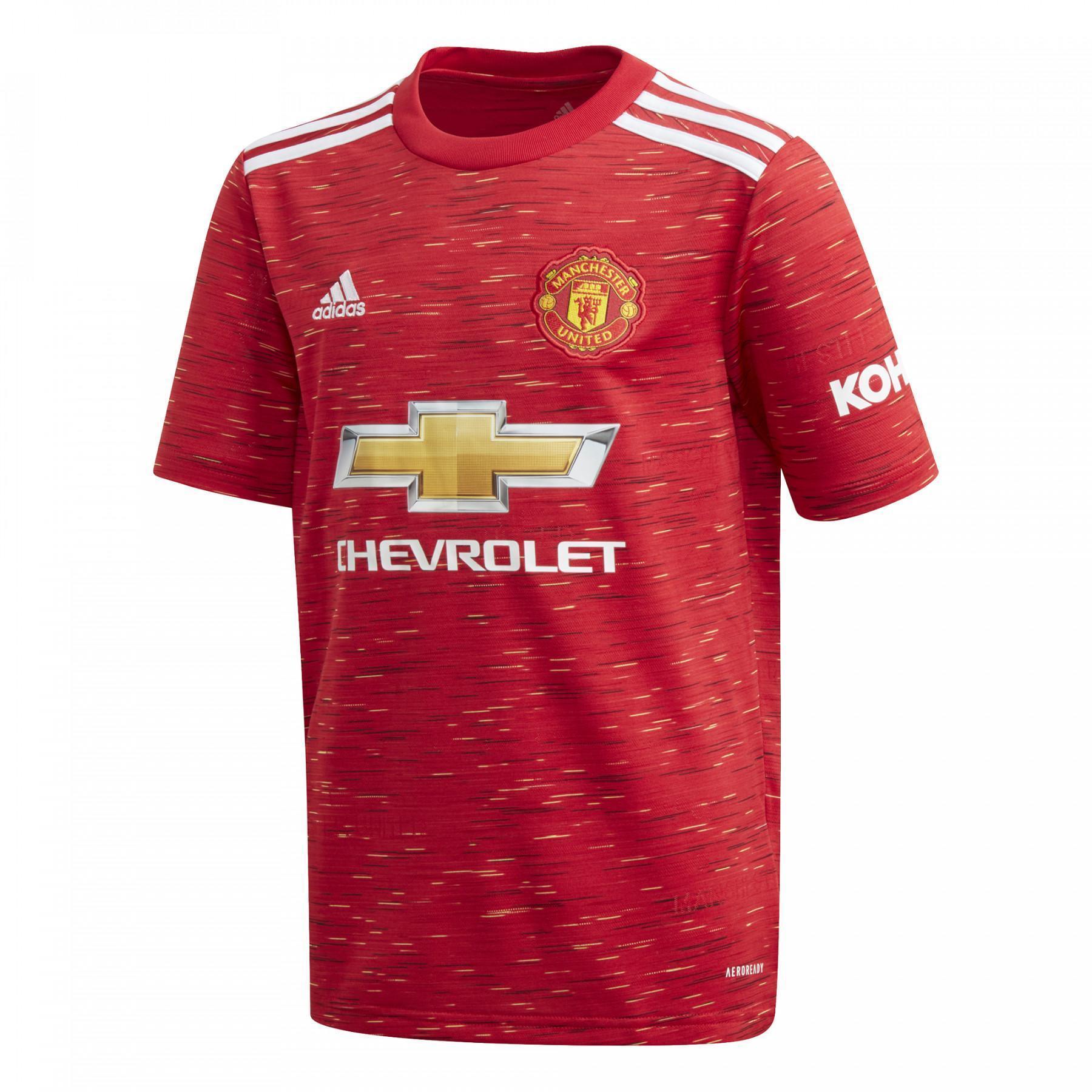 Children's home jersey Manchester United 2020/21