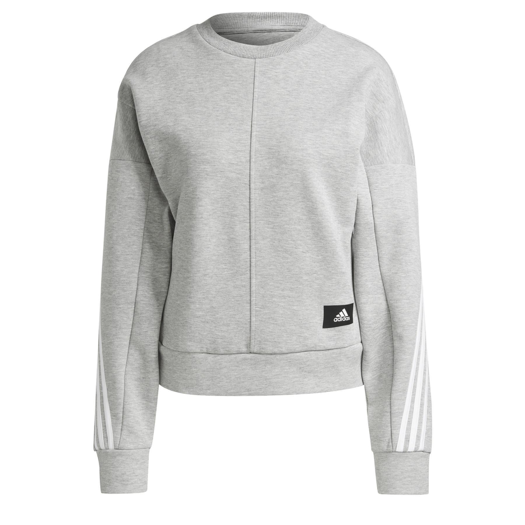 Sweatshirt woman adidas Sportswear Wrapped 3-Bandes