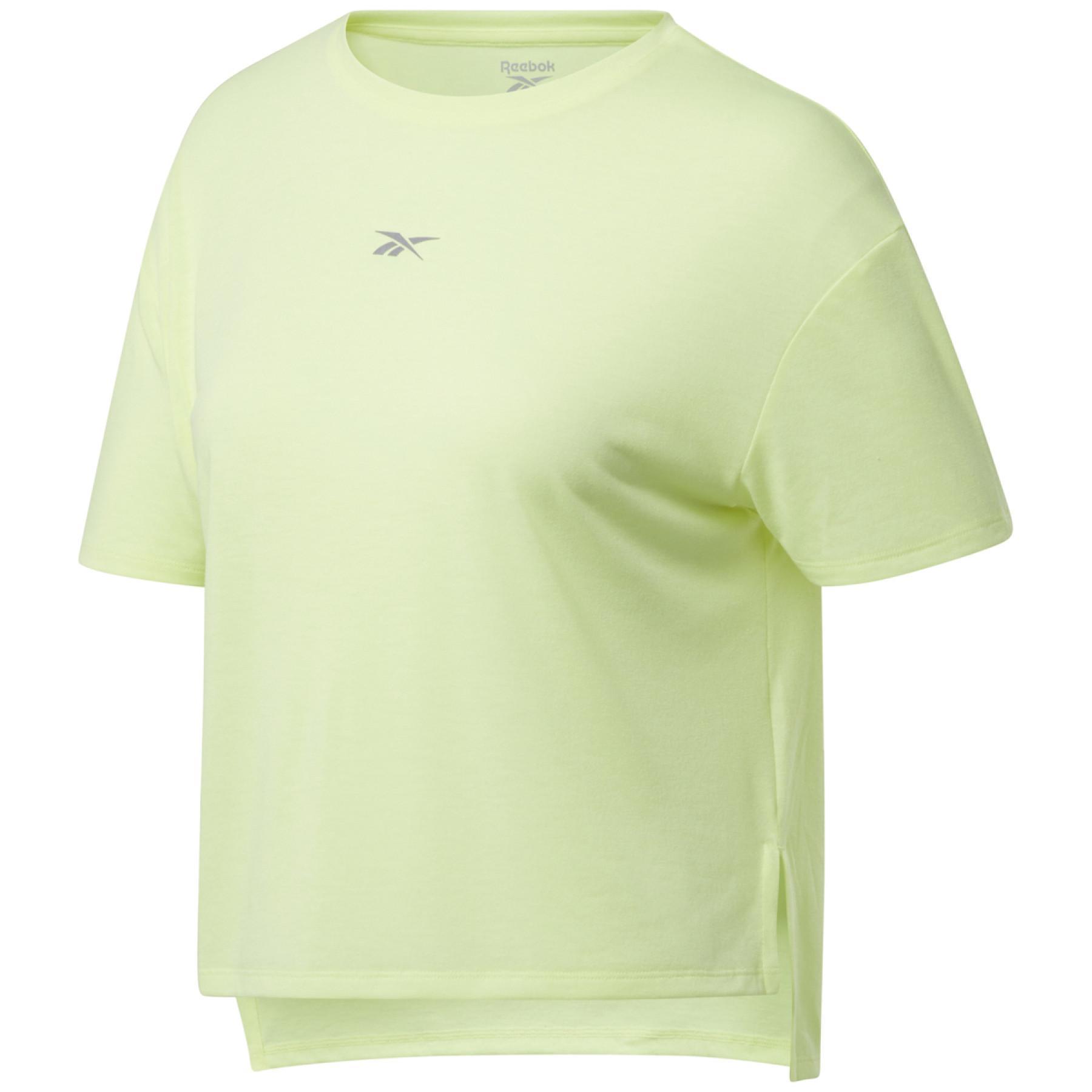 Women's T-shirt Reebok Run Essentials Sleeve Graphic
