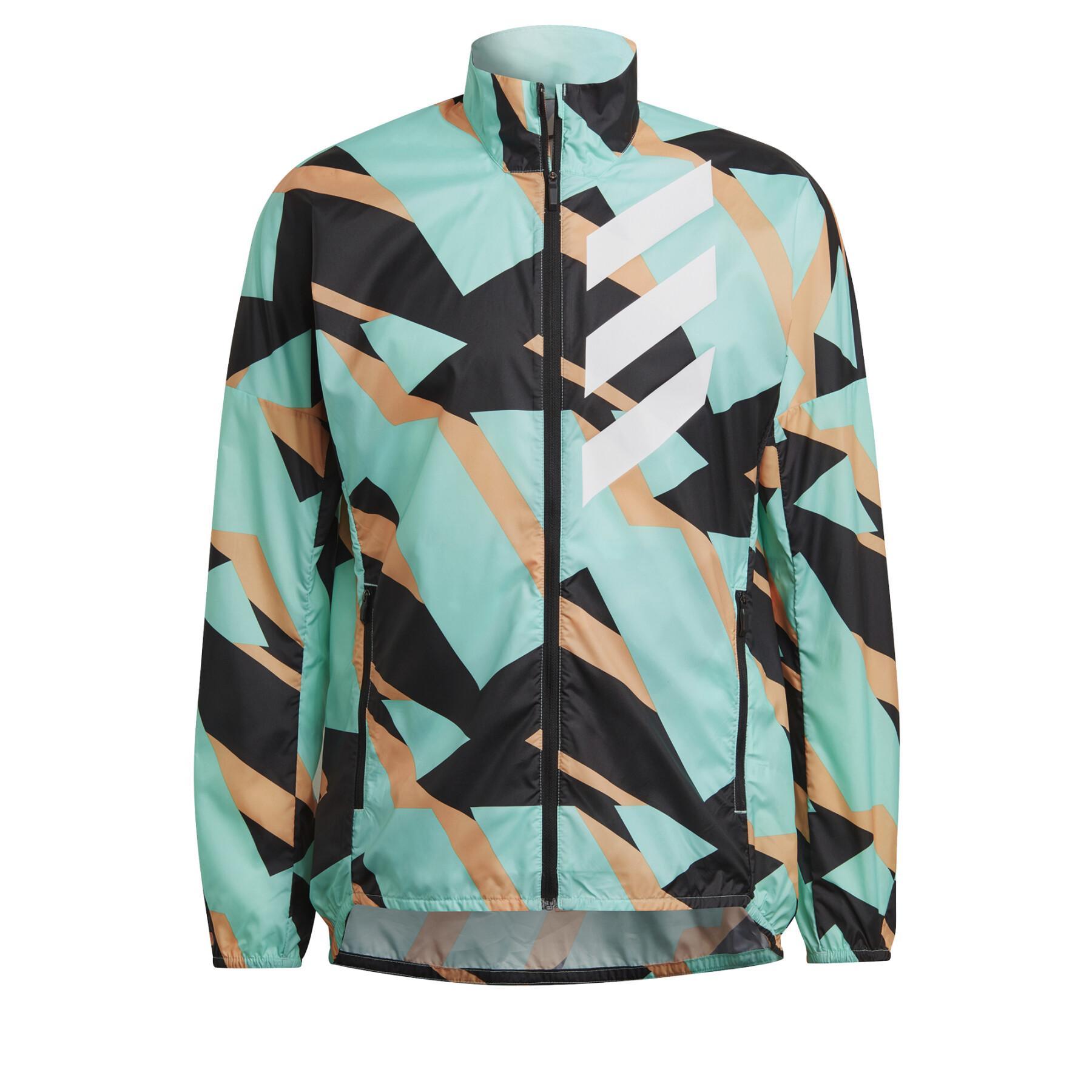Windproof jacket adidas Terrex Parley Agravic
