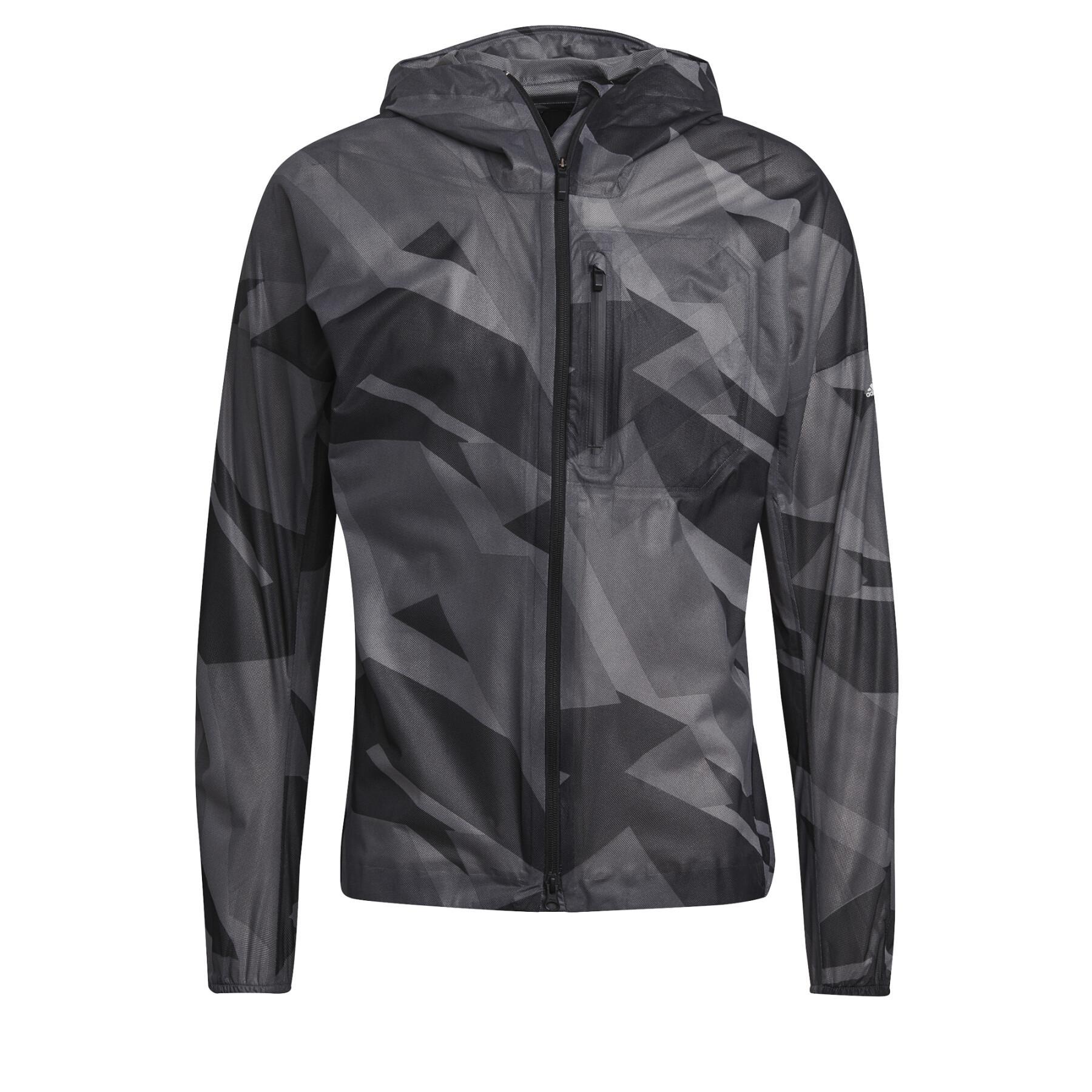 Rain jacket adidas Terrex Agravic Graphic