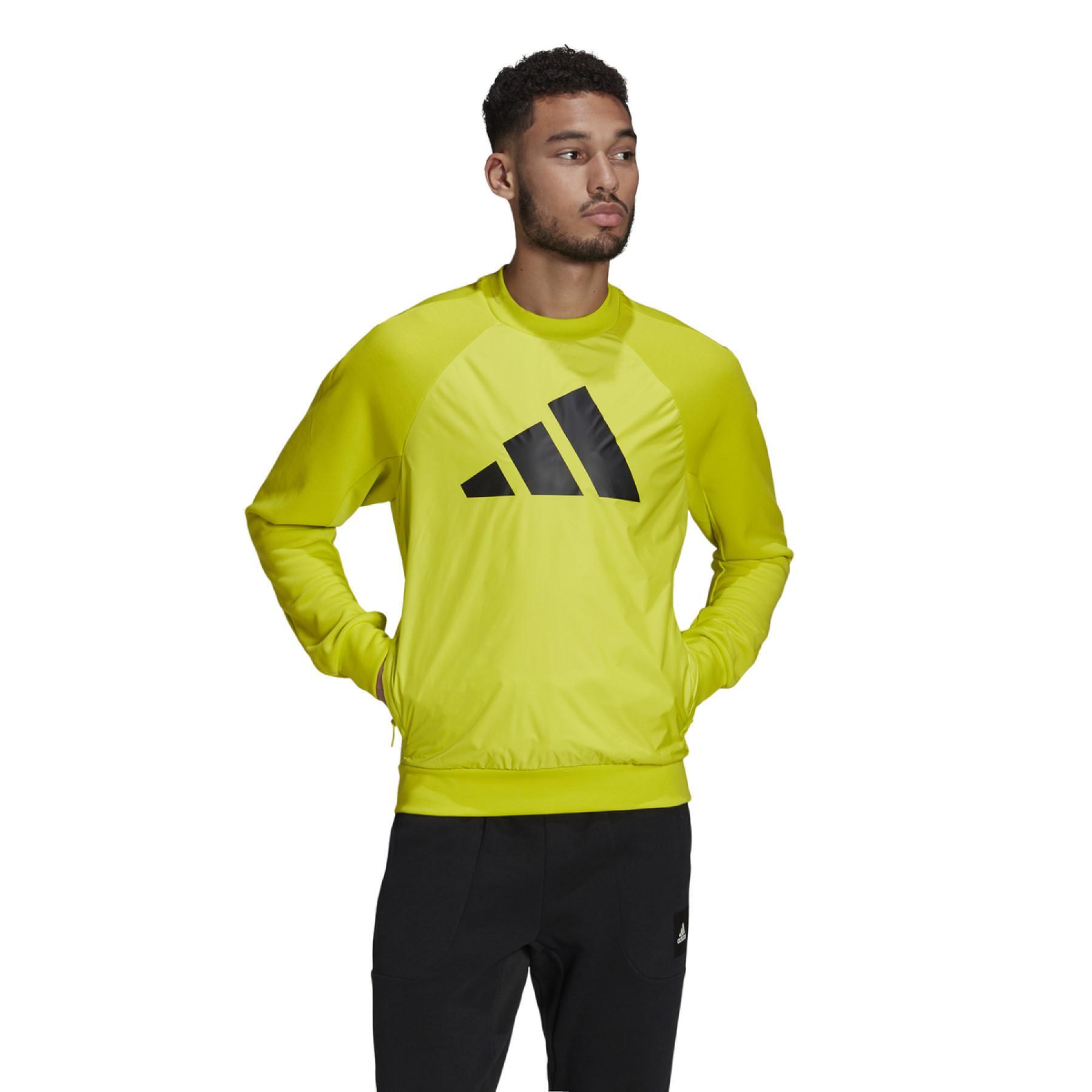 adidas Sportswear Fabric Block Sweatshirt