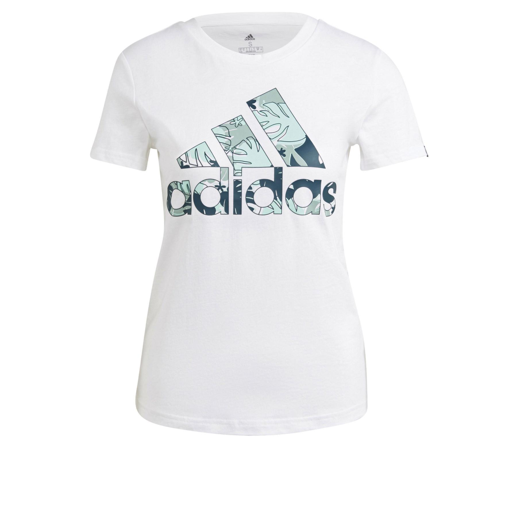 adidas Women's Tropical Graphic T-Shirt