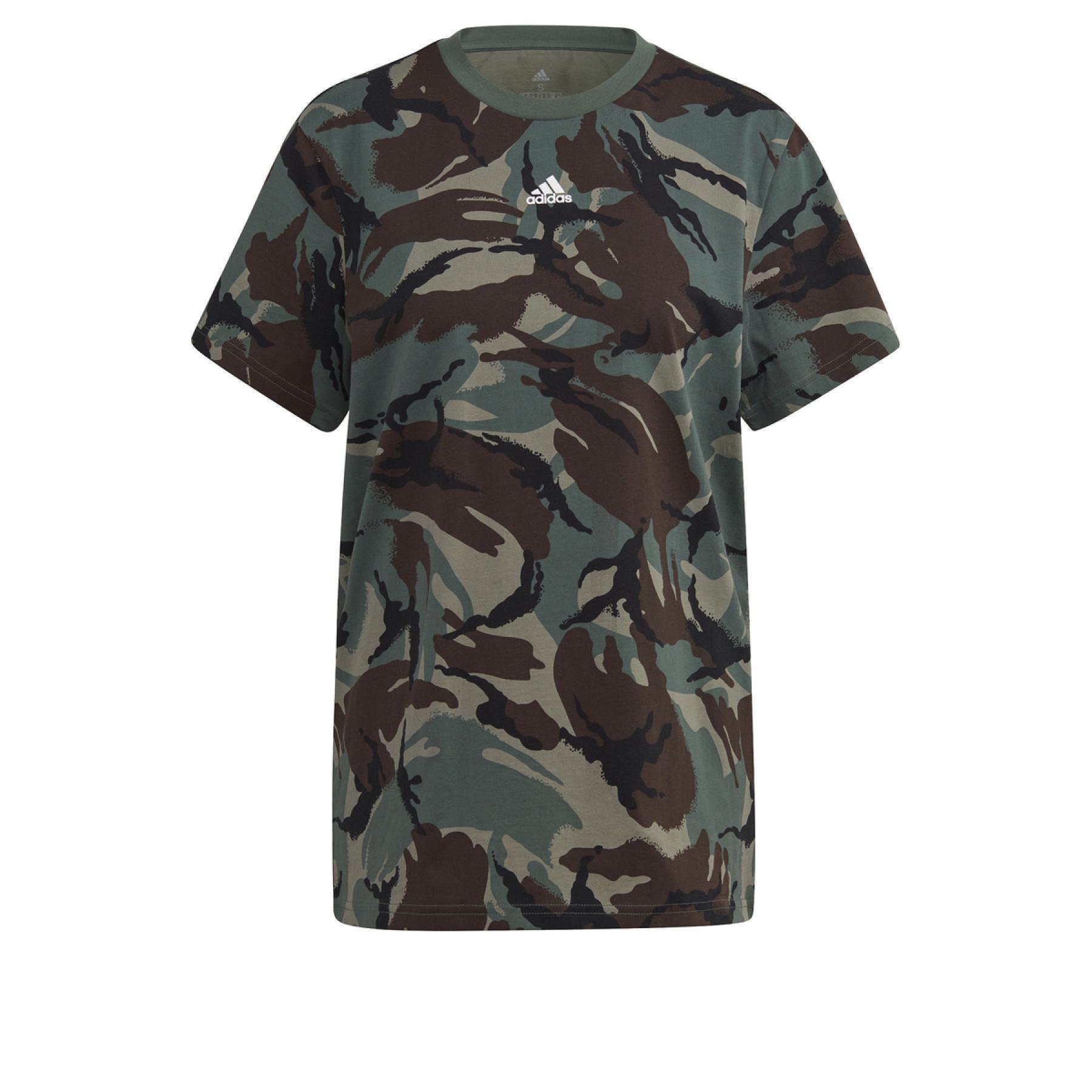 adidas Essentials Boyfriend Camouflage Women's T-Shirt