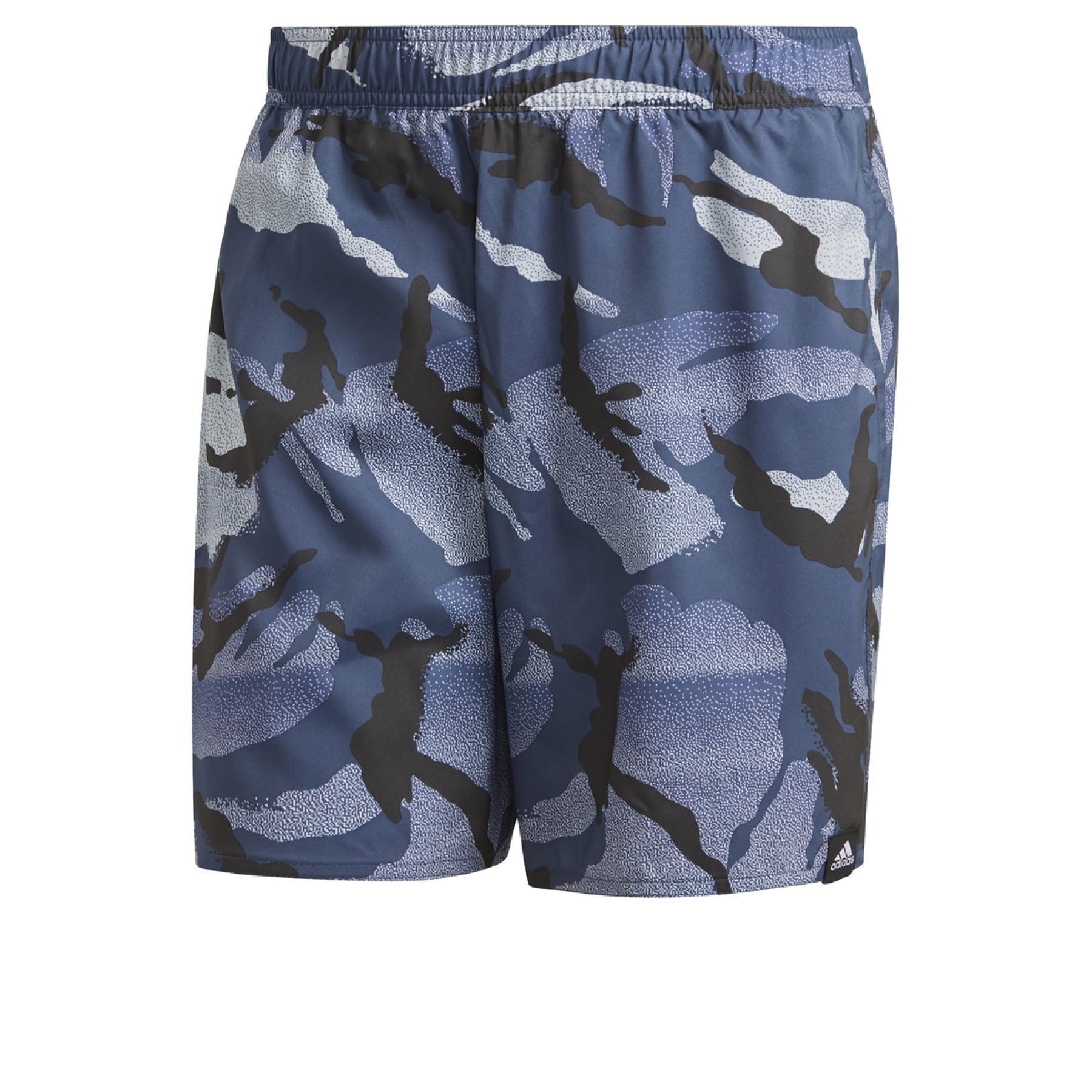adidas Length Graphic Swim Shorts