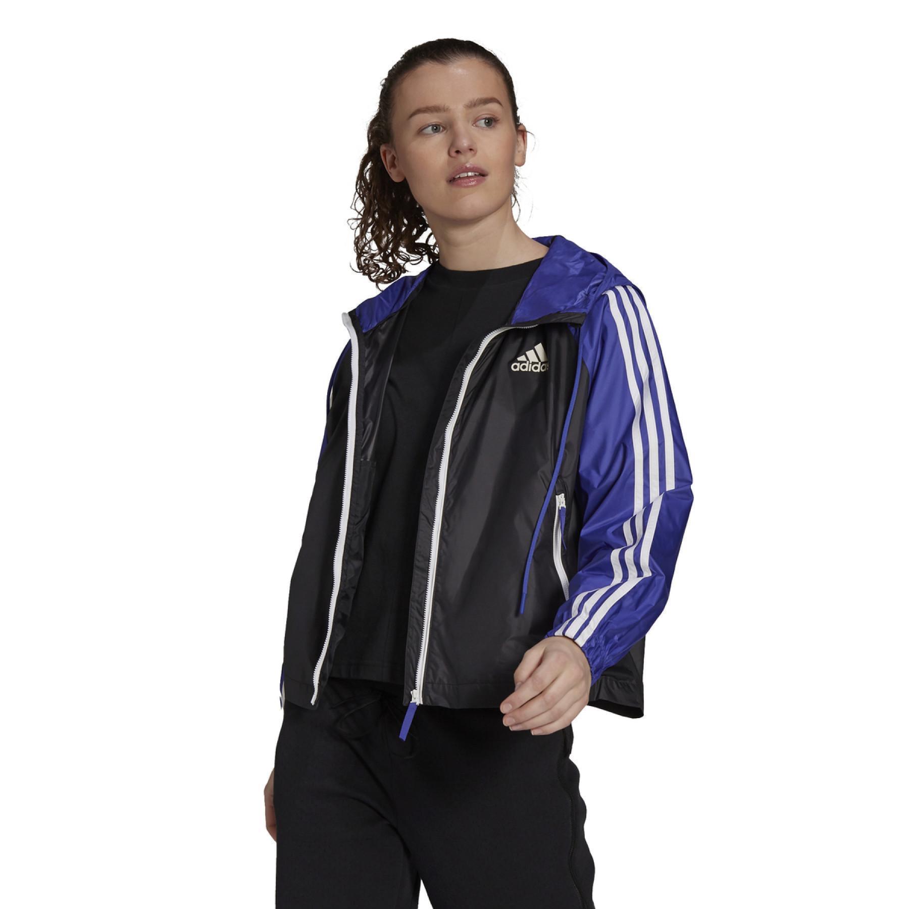Women's jacket adidas BSC 3-Bandes Wind