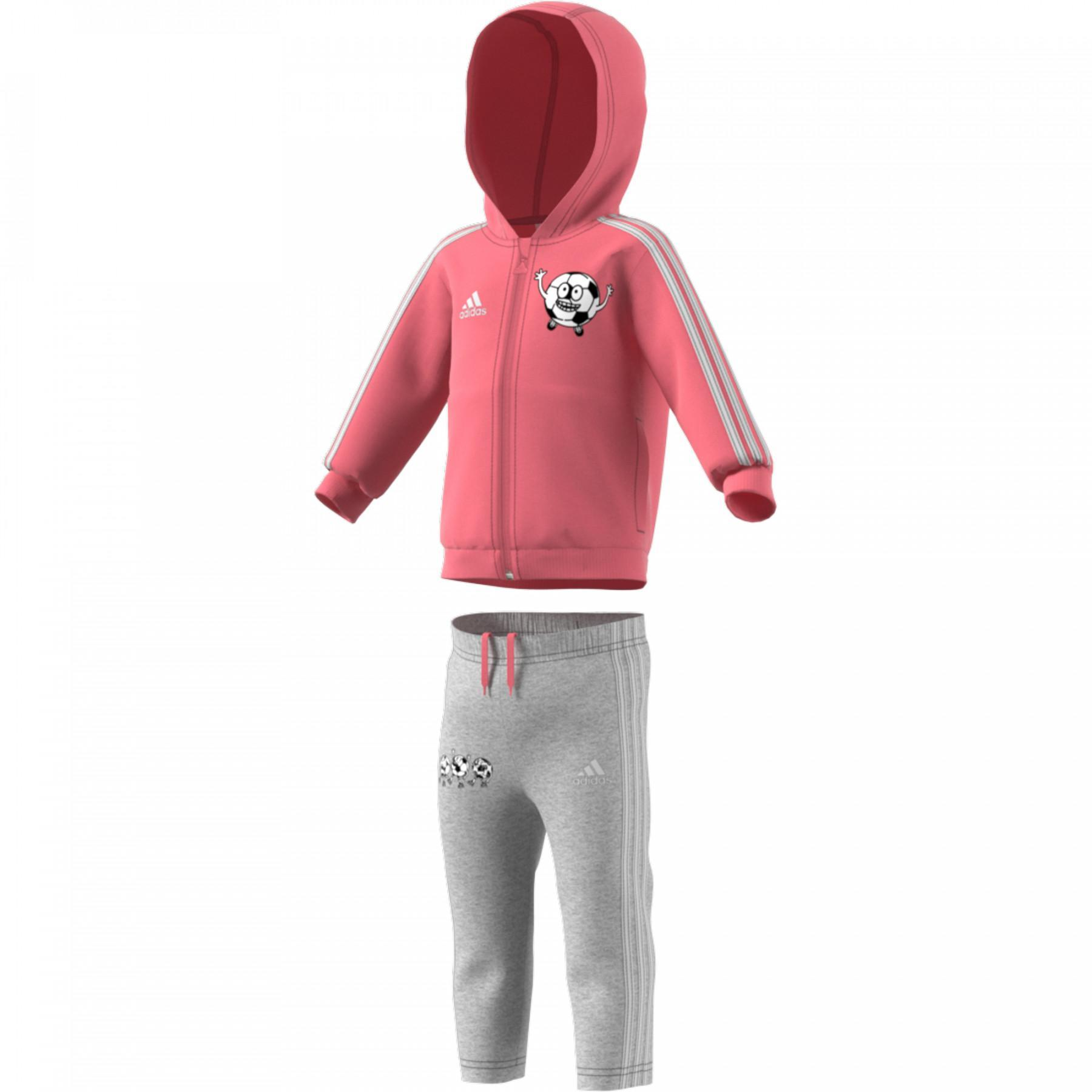 adidas Lil 3-Strip Fleece Jogger Kids Set