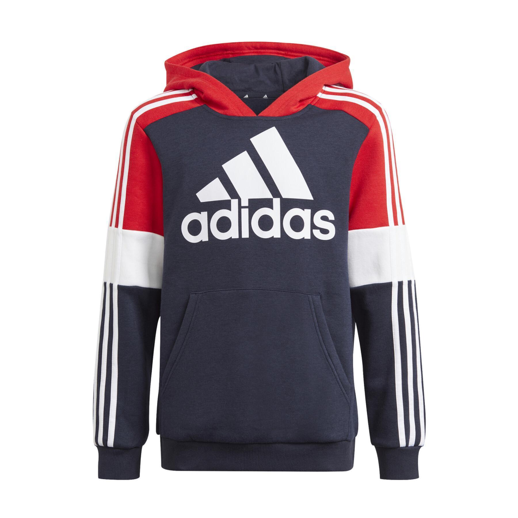 Child hoodie adidas Essentials Colorblock