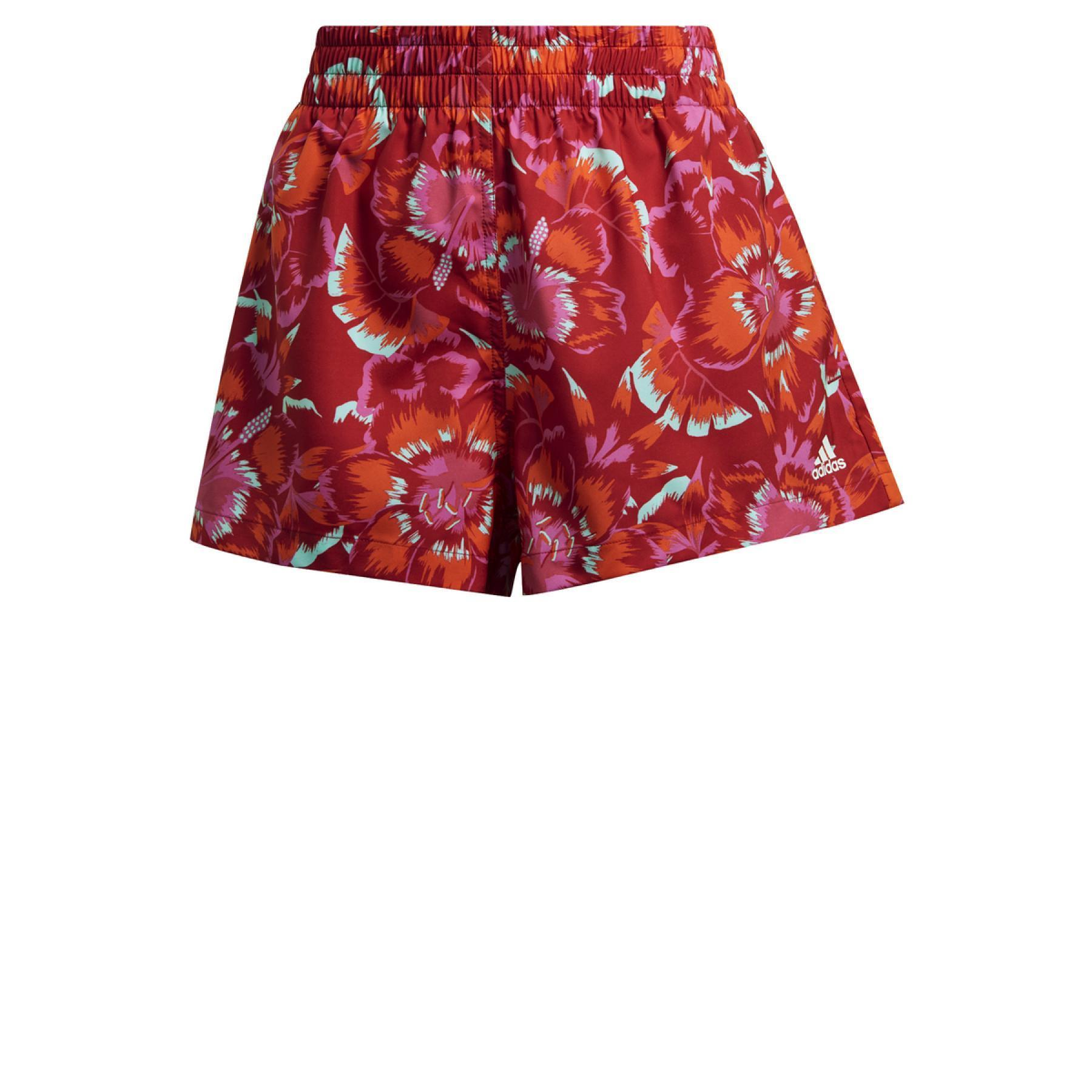 adidas Farm Floral Print Women's Shorts