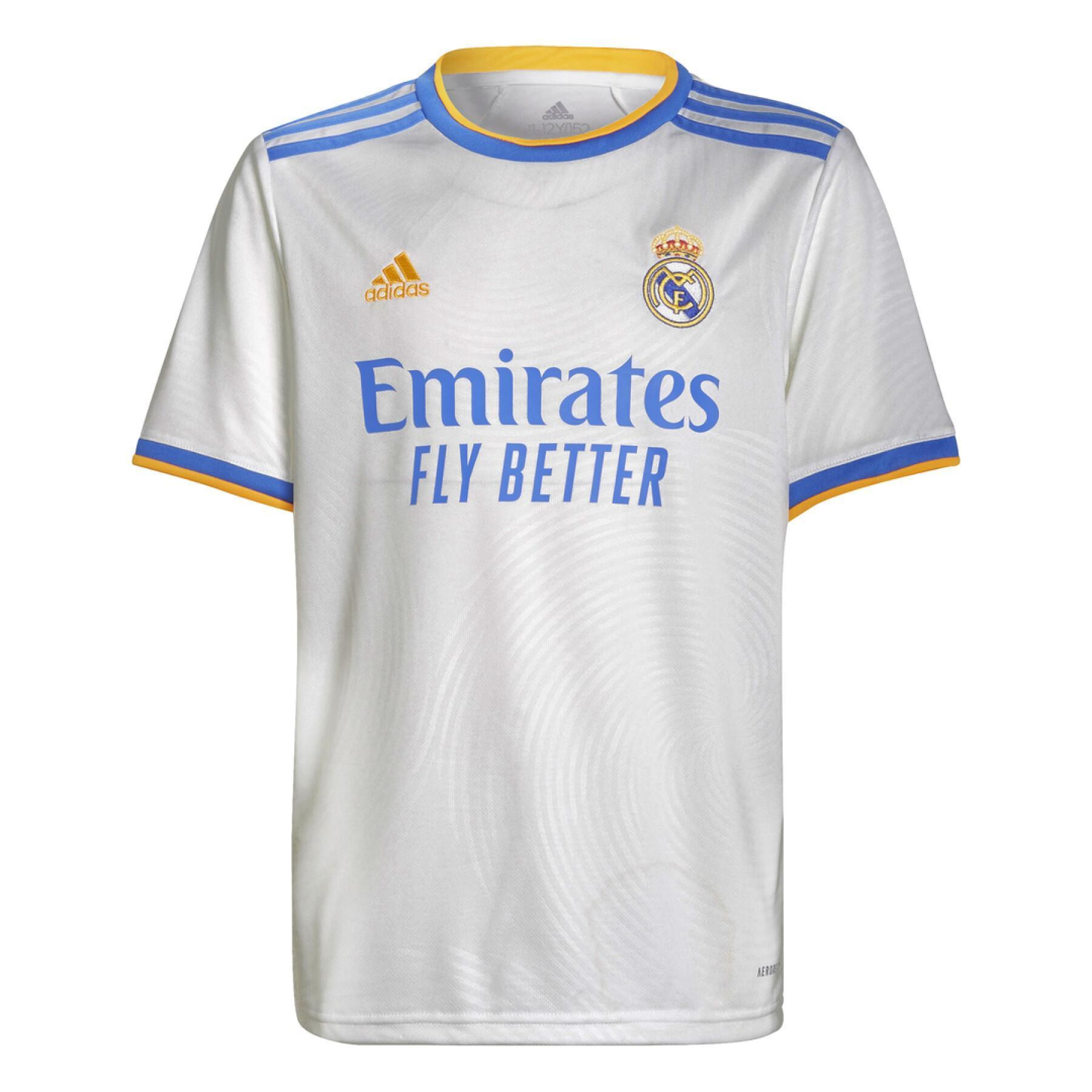 Children's home jersey Real Madrid 2021/22