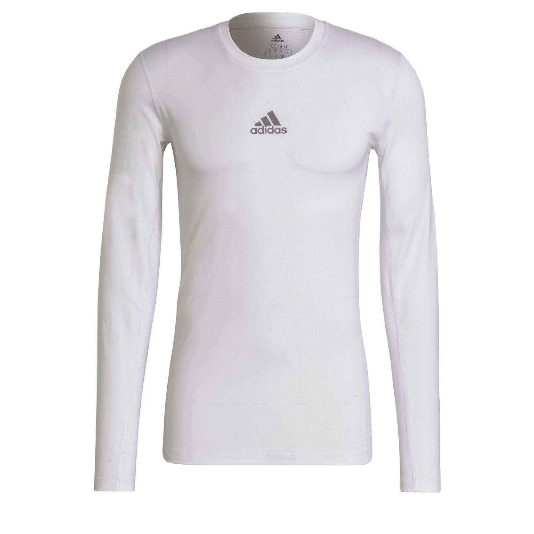 adidas Techfit Long Sleeve T-Shirt