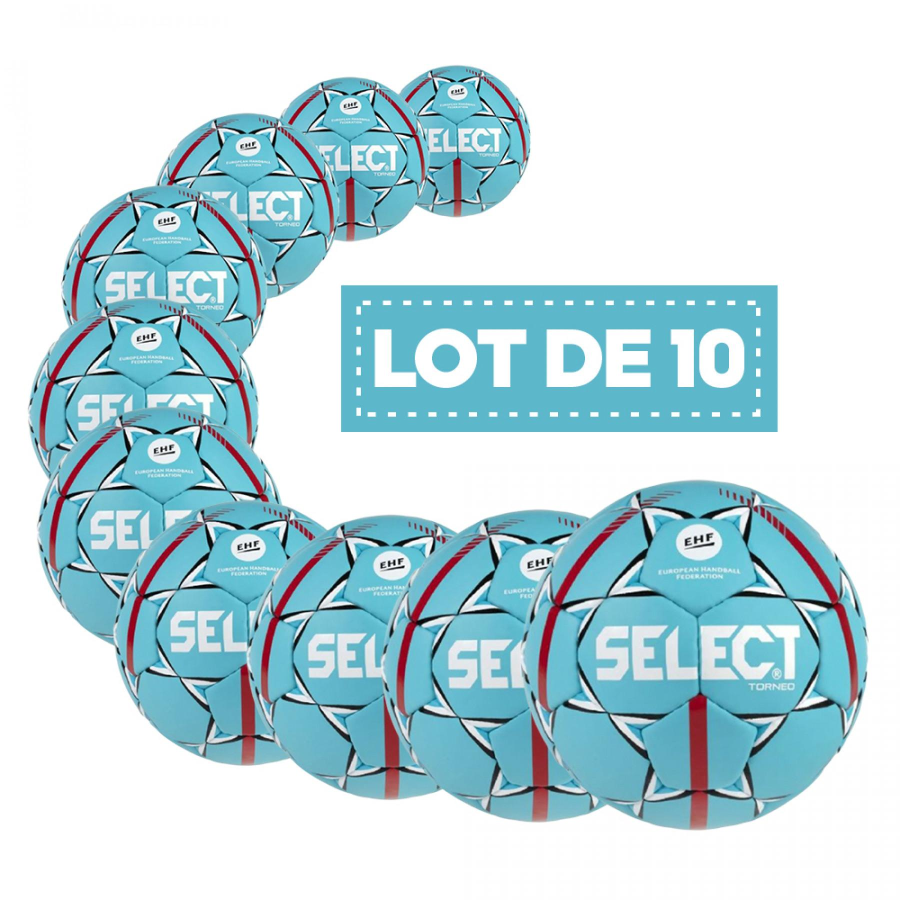 Set of 10 Balls Select HB Torneo Official EHF