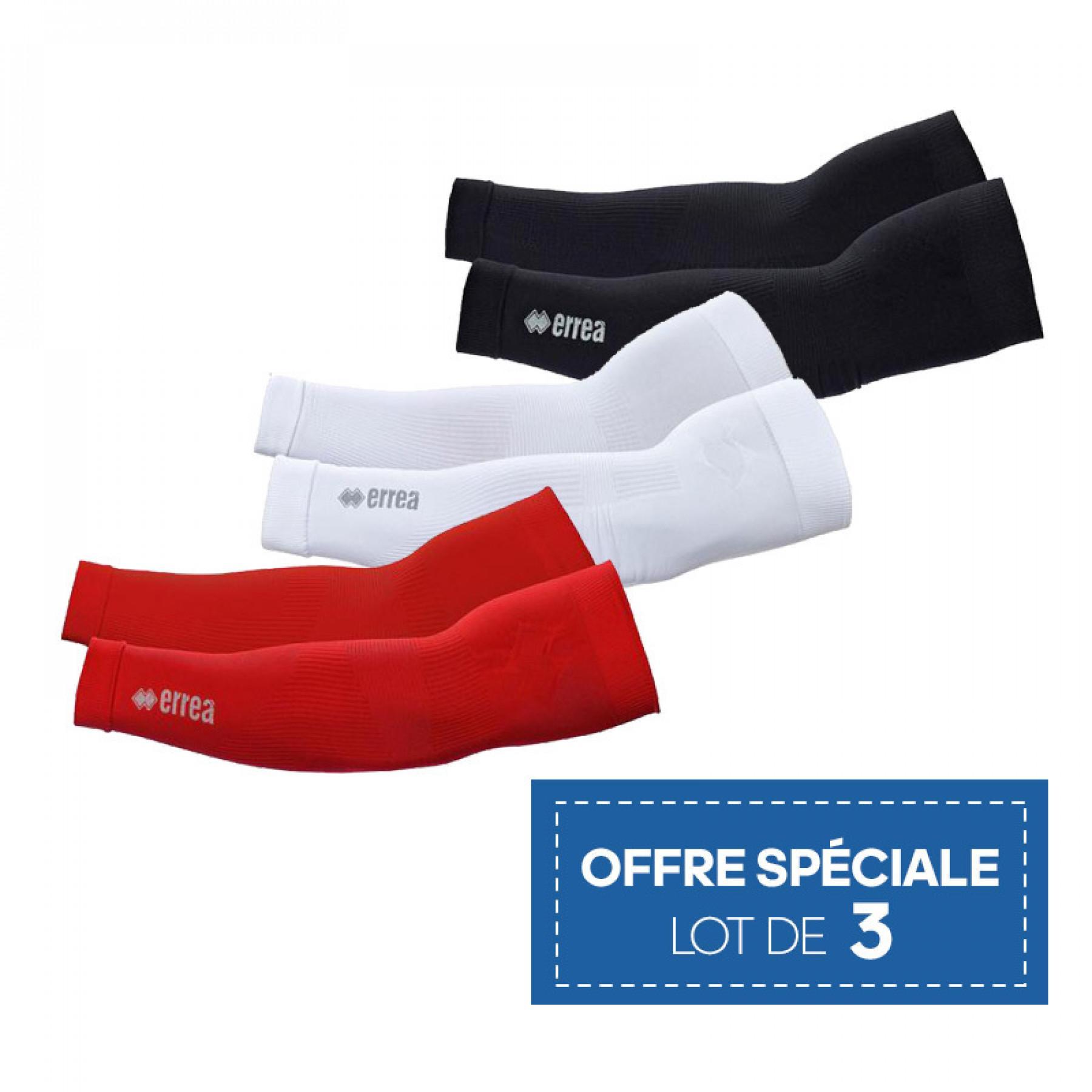 Set of 3 pairs of sleeves Errea KNIK