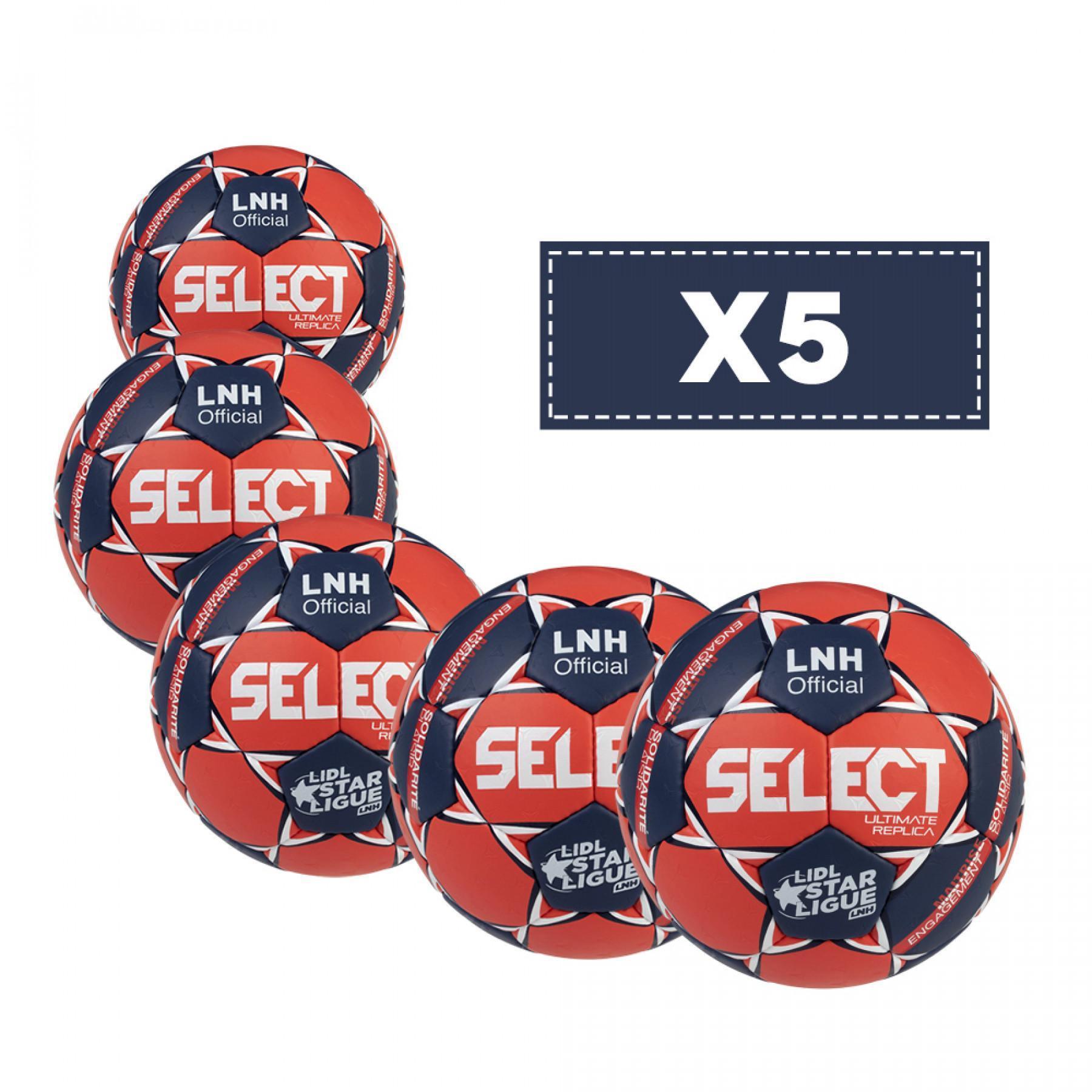 Set of 5 balloons Select Ultimate LNH Replica 2020/21