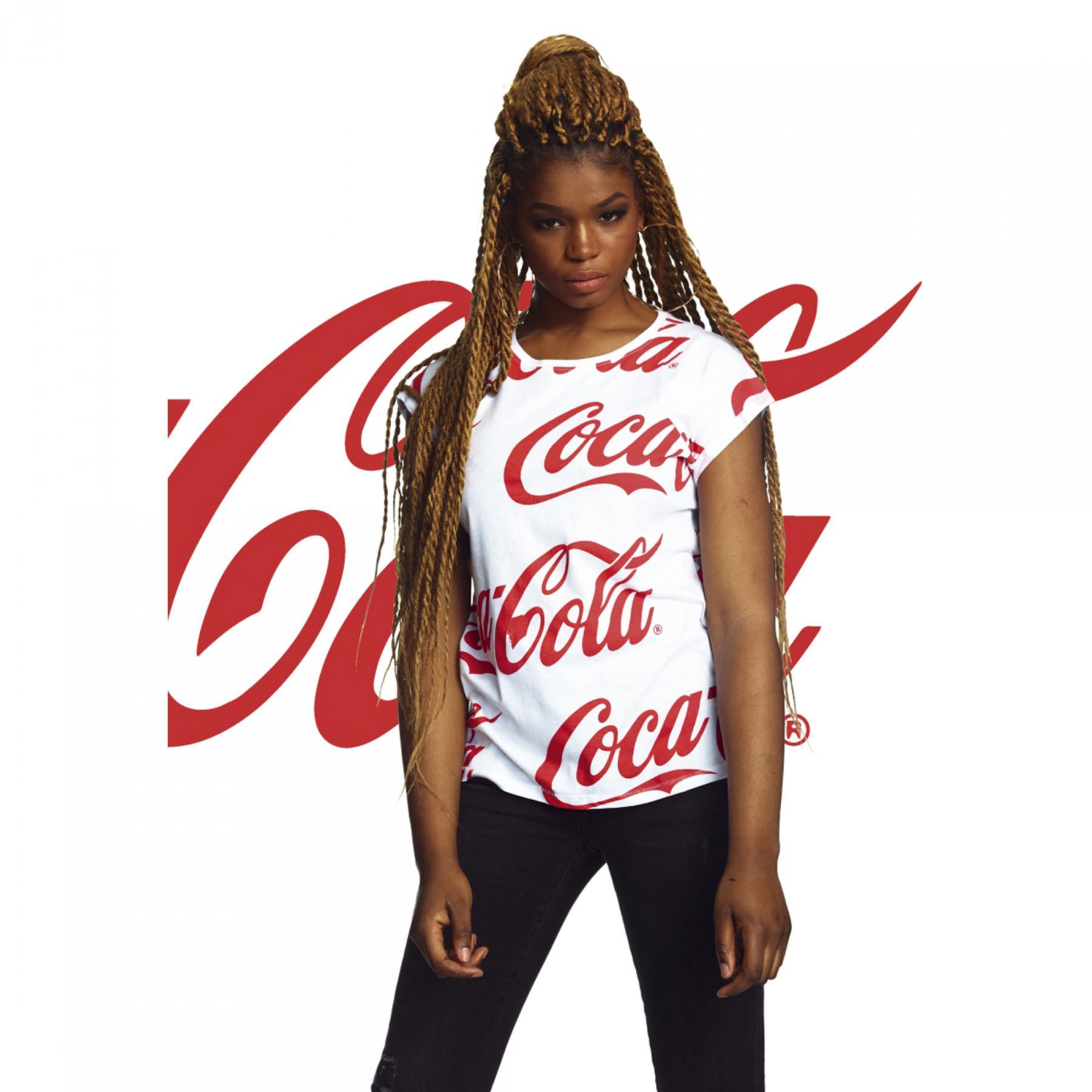 T-shirt woman Urban Classic coca cola