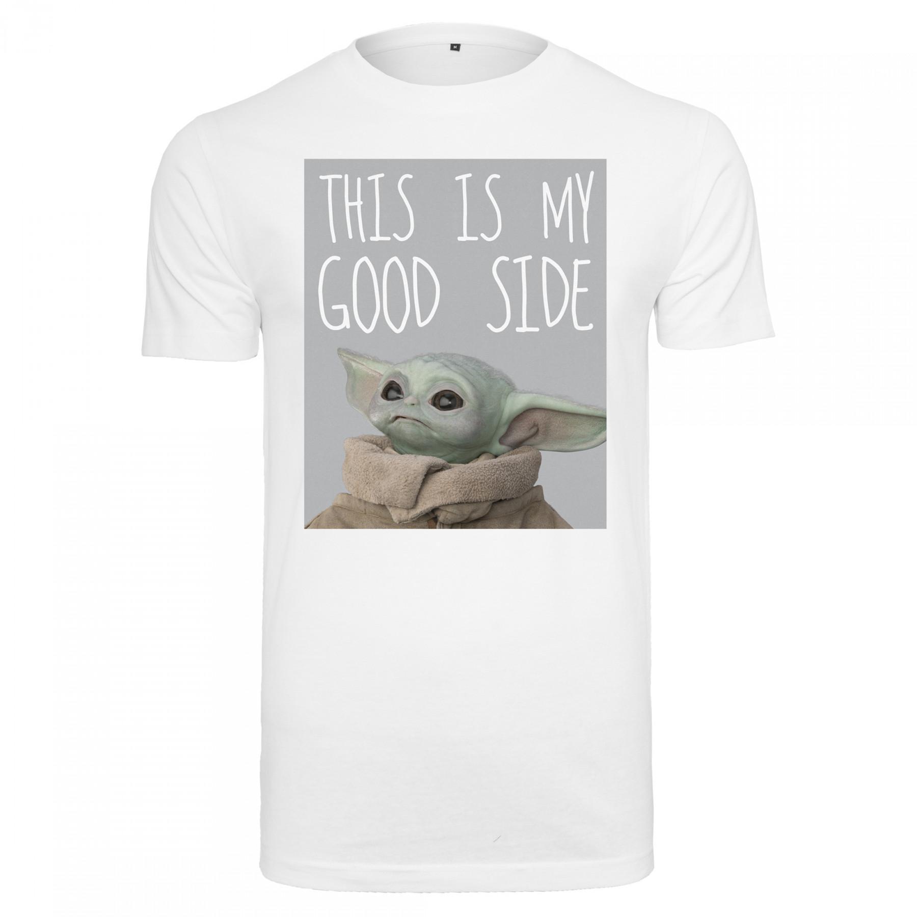 Urban Classics baby yoda good side T-shirt