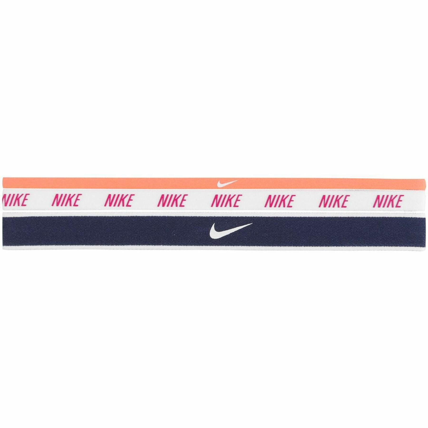 Set of 3 headbands Nike mixed