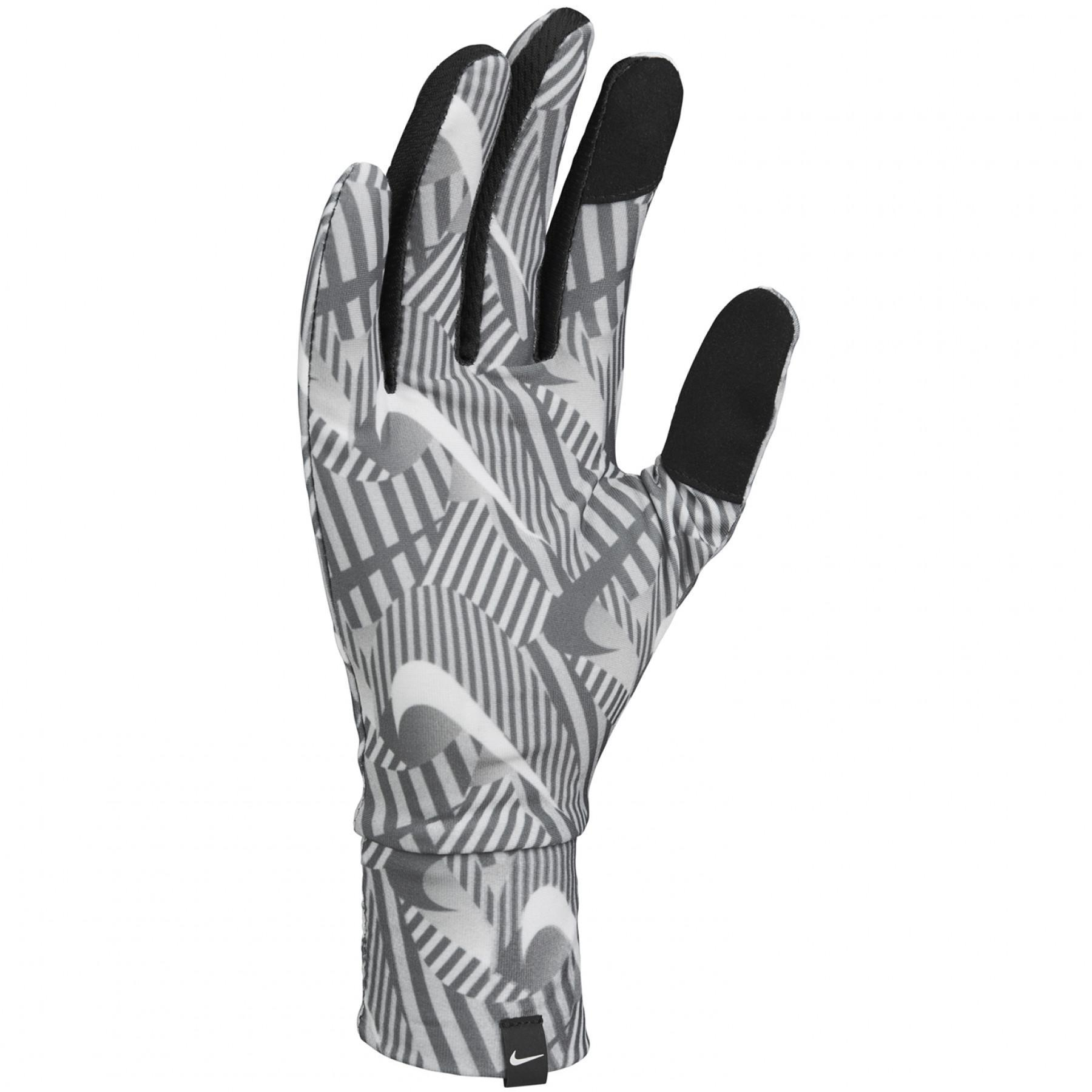 Women's Nike lightw tech run gloves