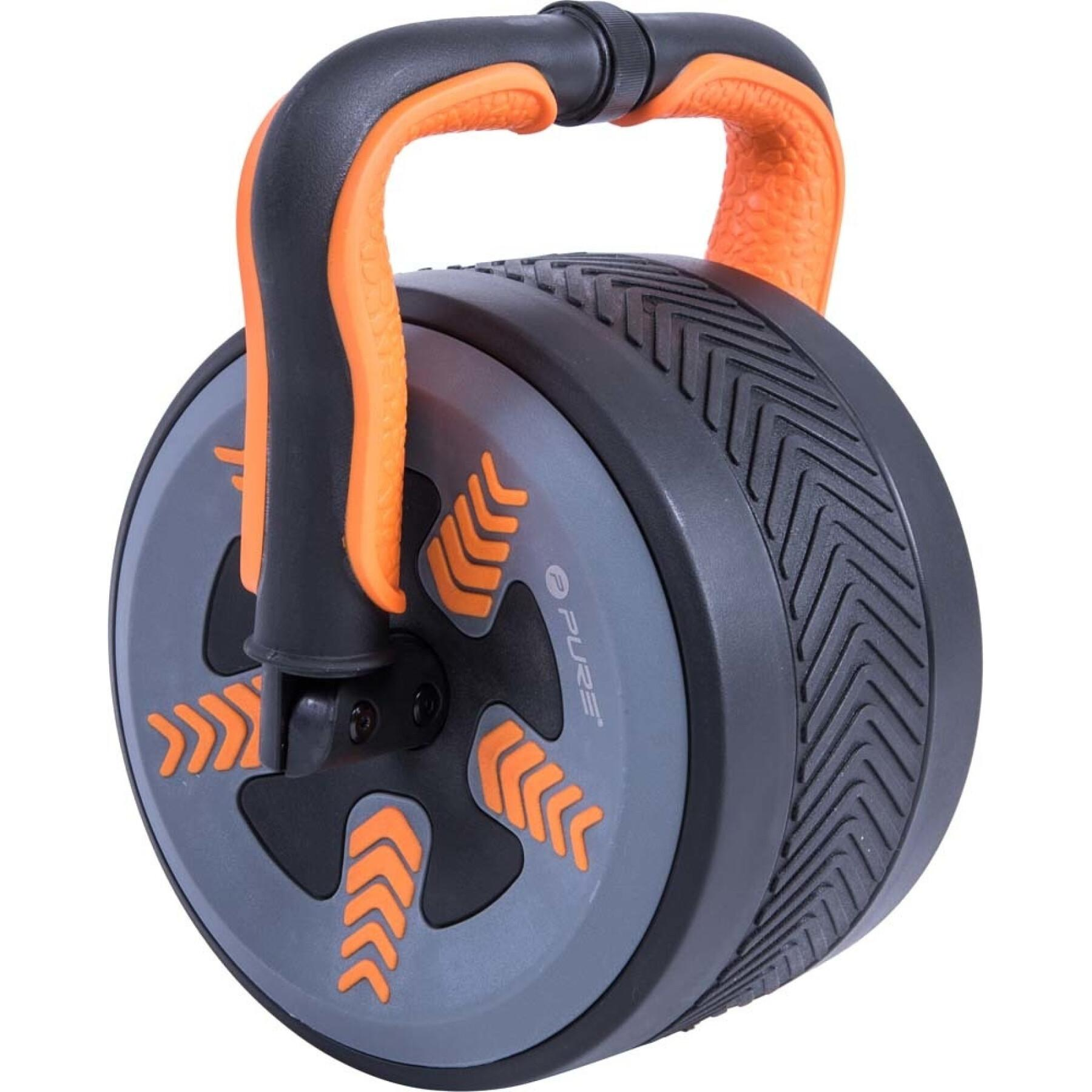 Abdominal wheel / kettlebell Pure2Improve