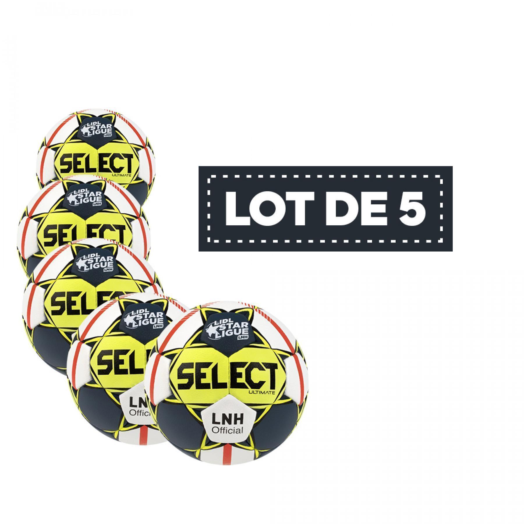 Set of 5 Balls Select Replica NHL 19/20