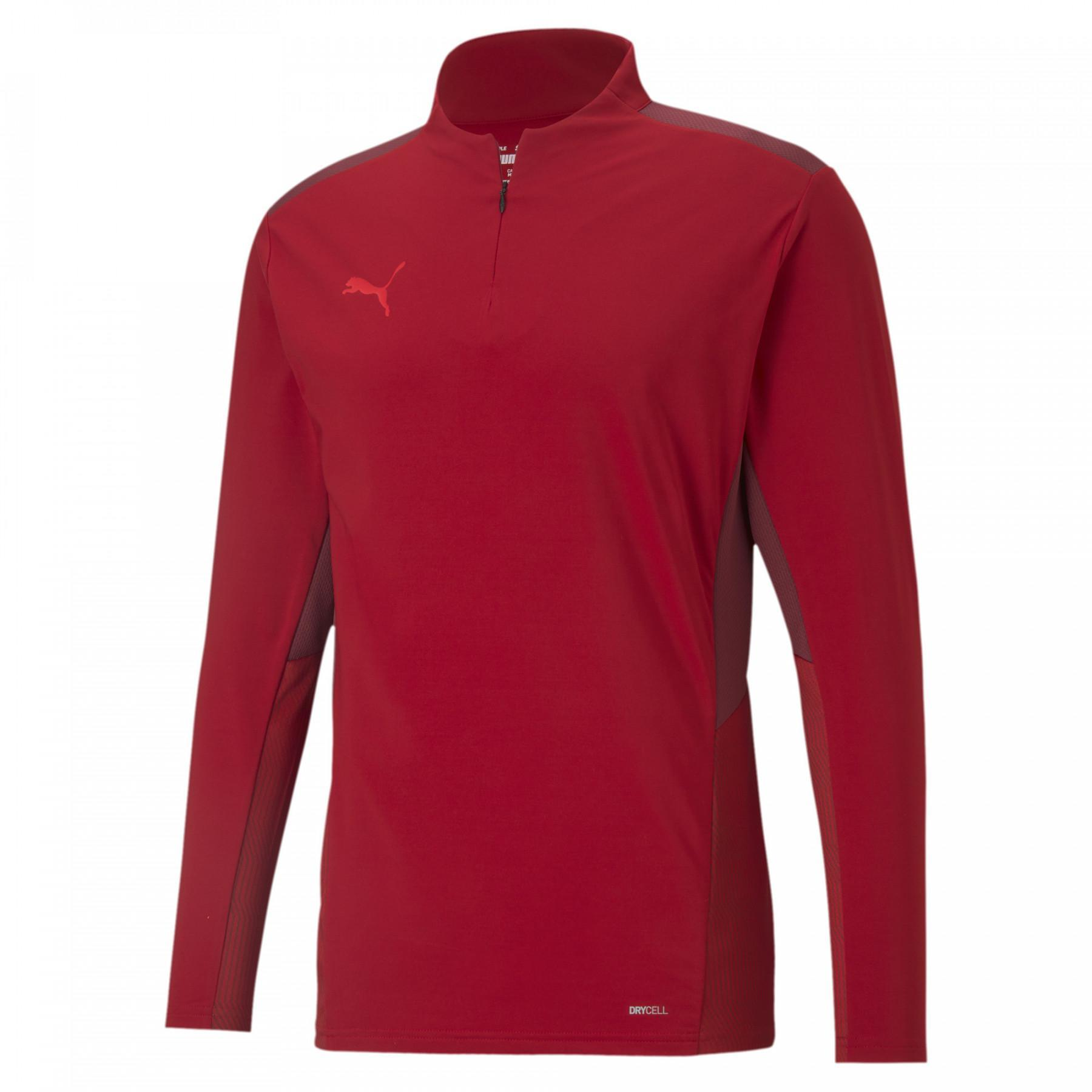 Puma TeamCup 1/4 zip sweatshirt