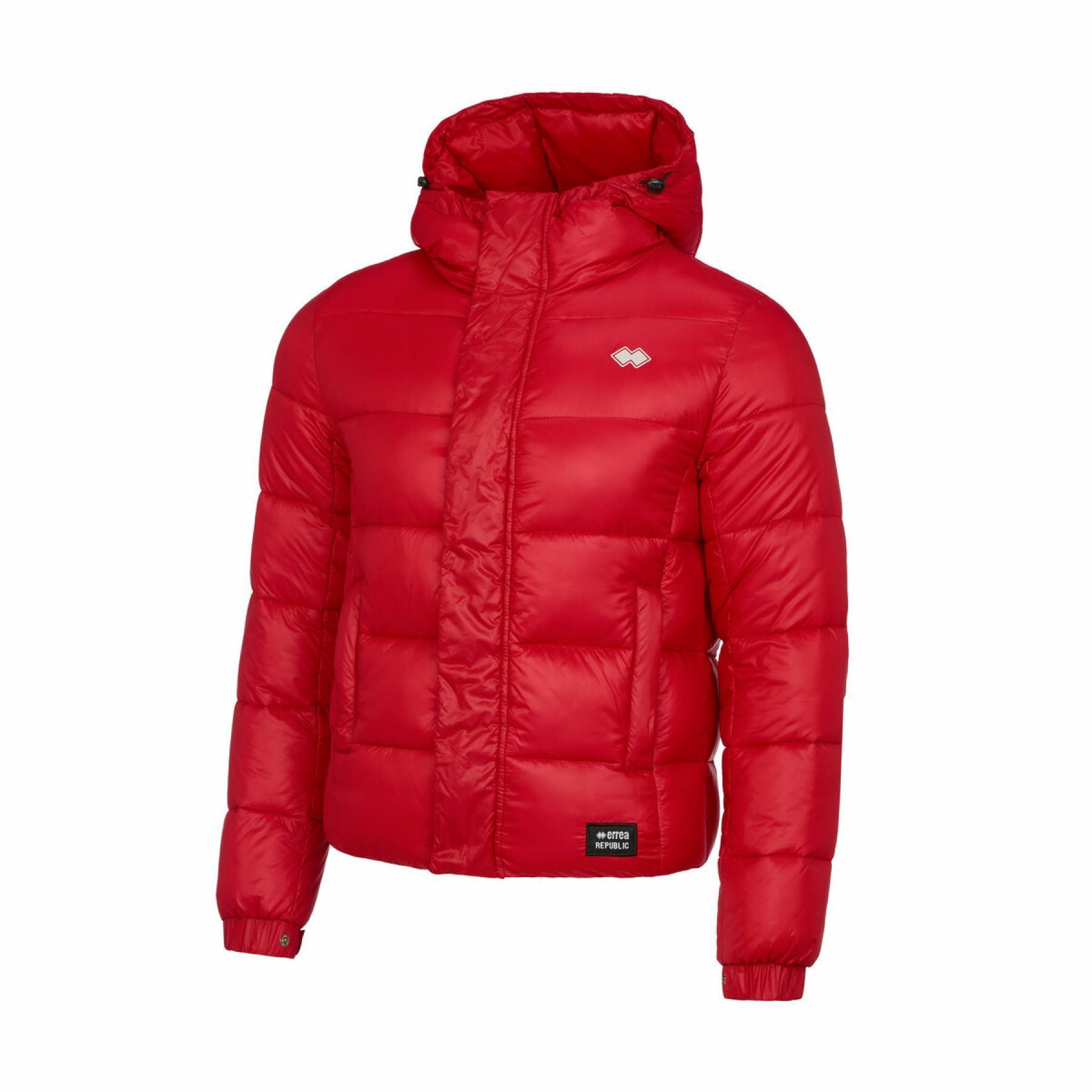 Errea hybrid quilted jacket big logo