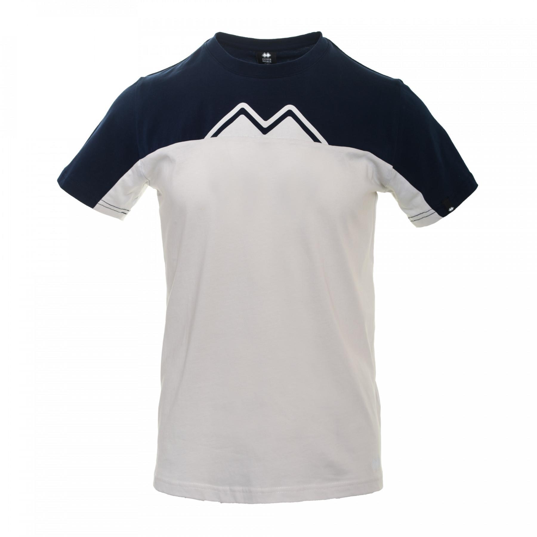 T-shirt Errea contemporary colour-block ad