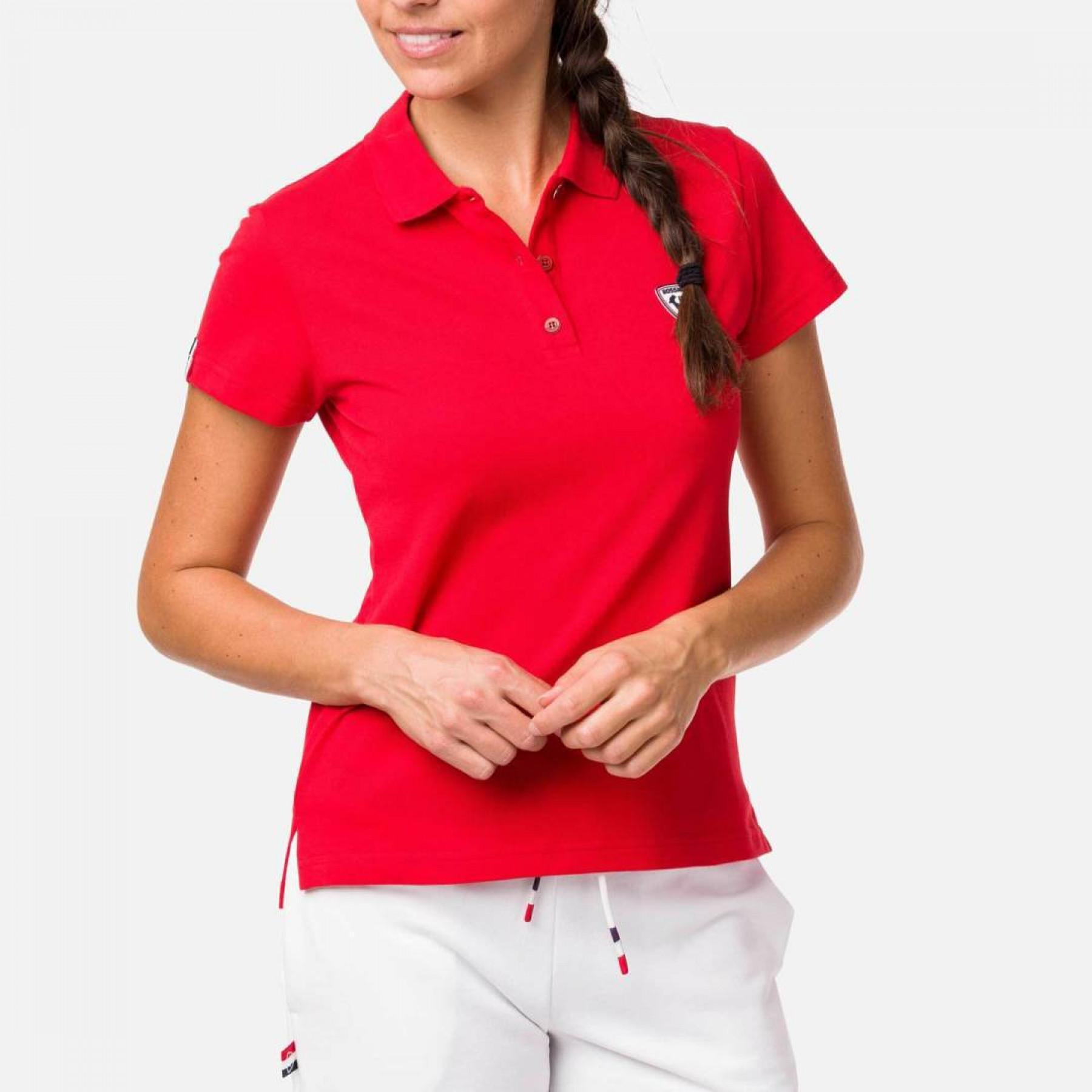 Women's polo shirt Rossignol Rooster Classic