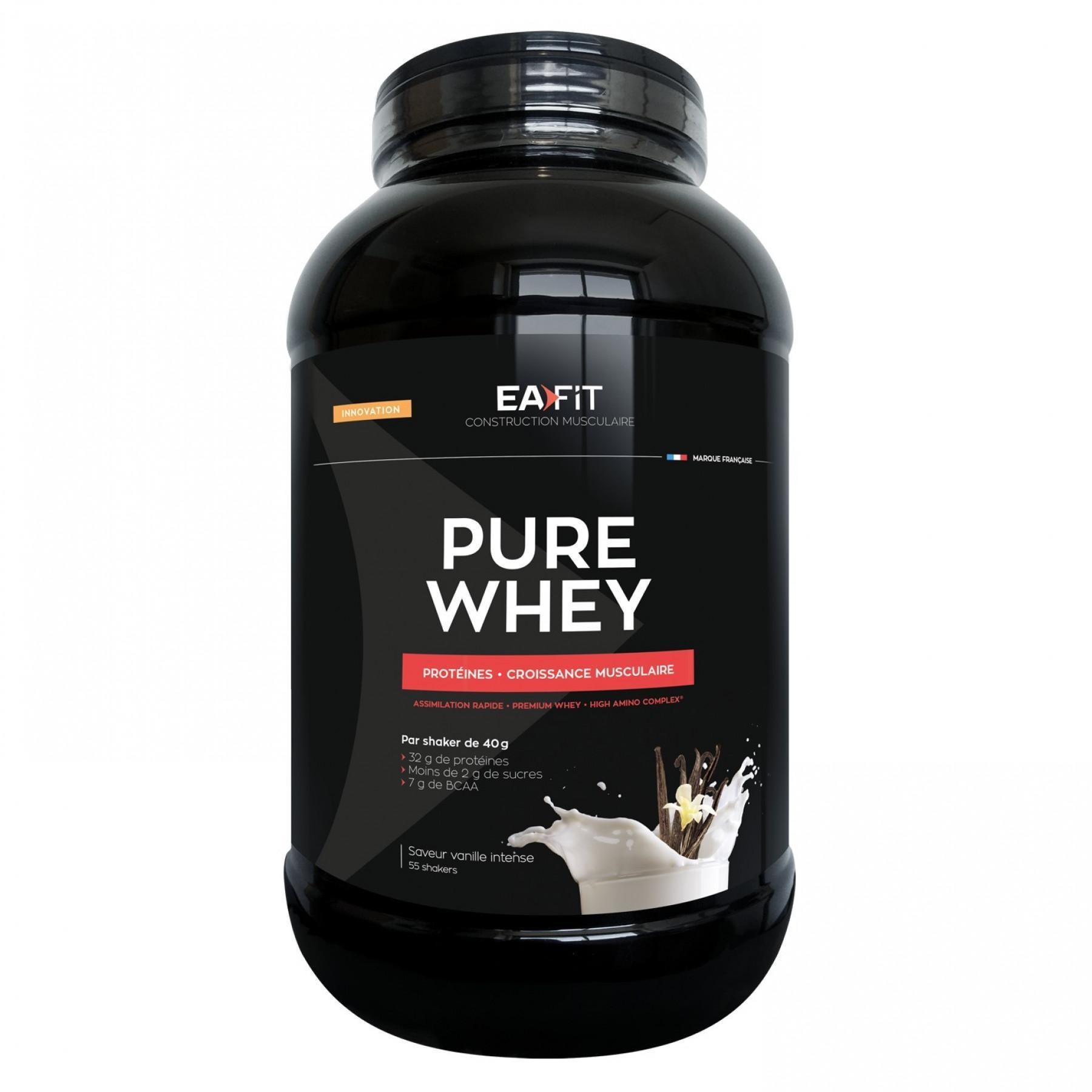 Pure Whey intense vanilla EA Fit 2,2kg
