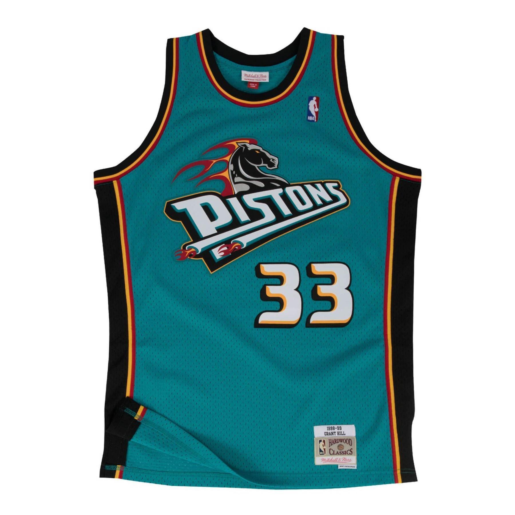 Detroit Pistons Grant Hill Jersey