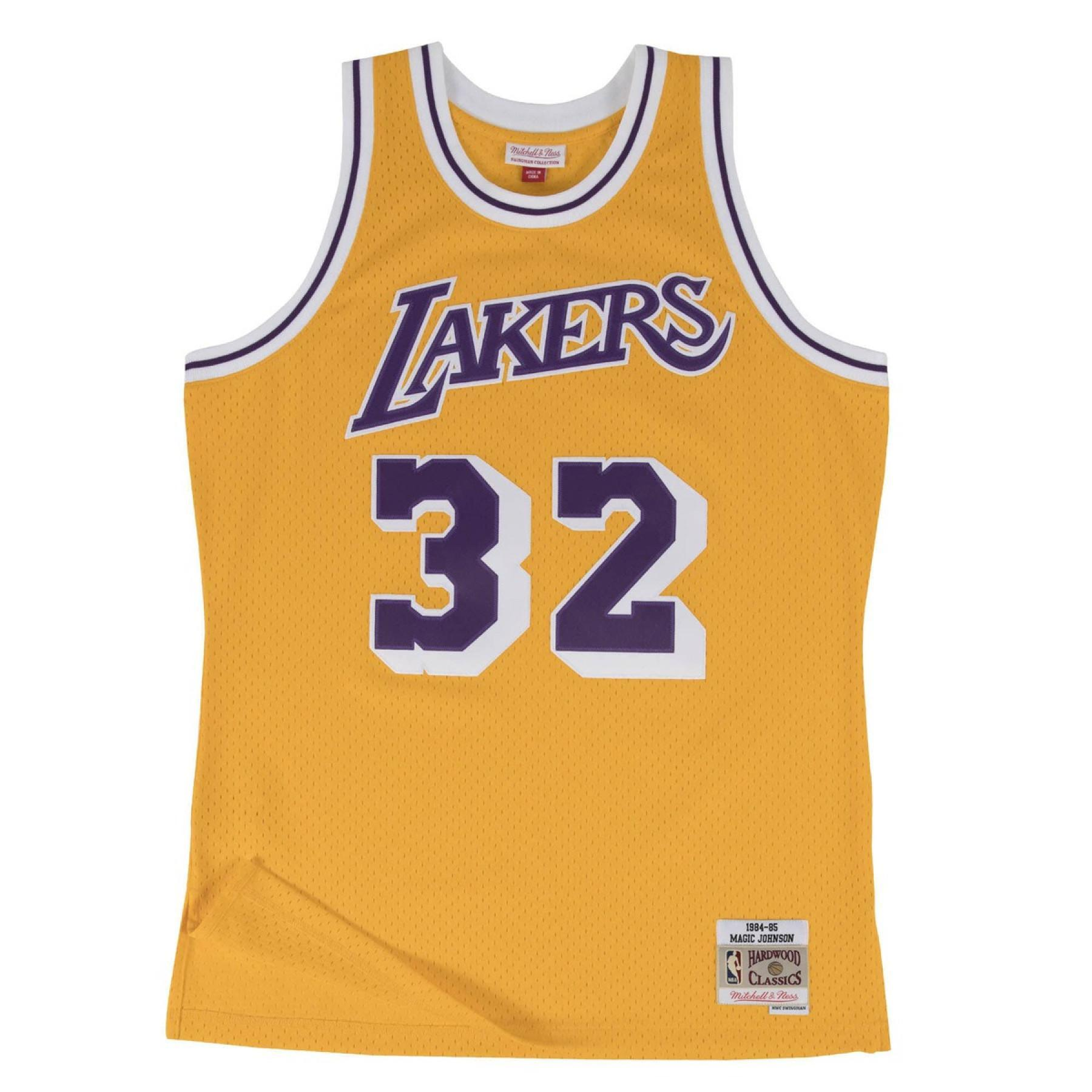 Magical johnson jersey Los Angeles Lakers 1984-85