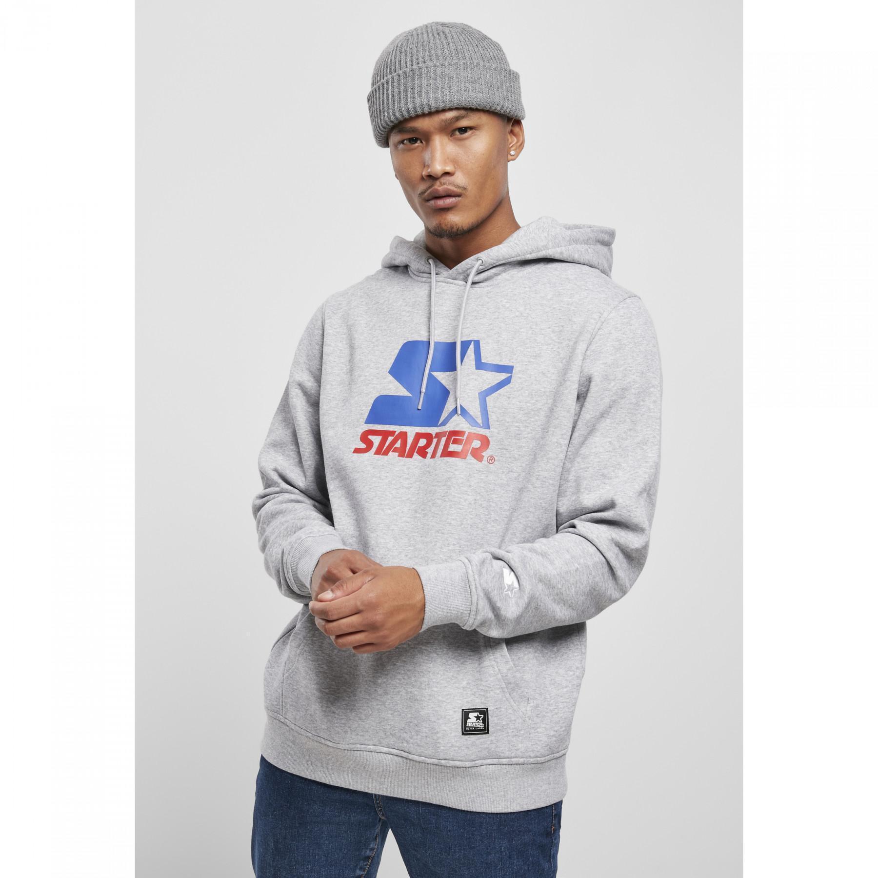 Sweatshirt Urban Classics starter two color logo