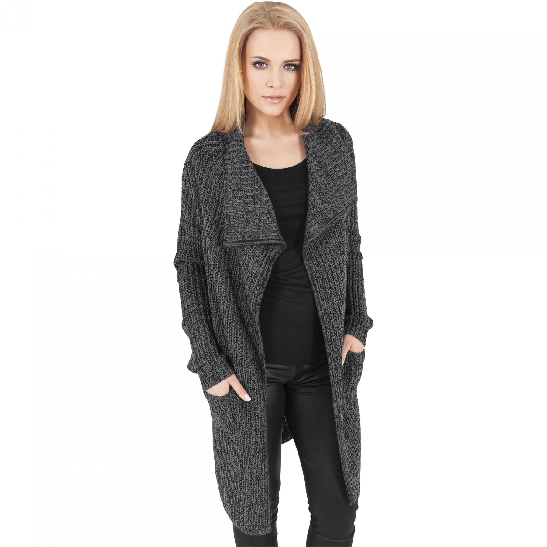 Cape woman Urban Classic knitted long