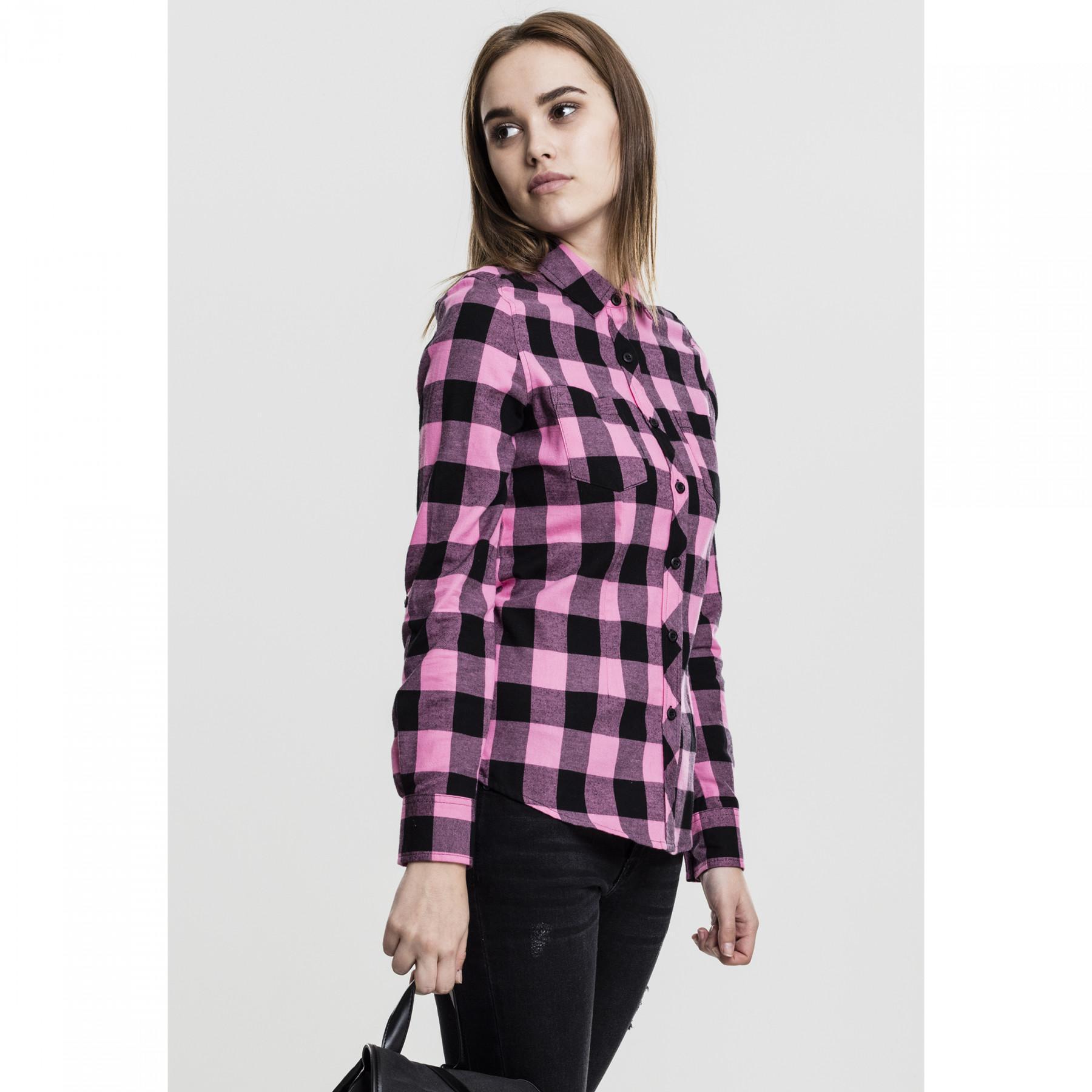 Shirt woman Urban Classic ed flanell
