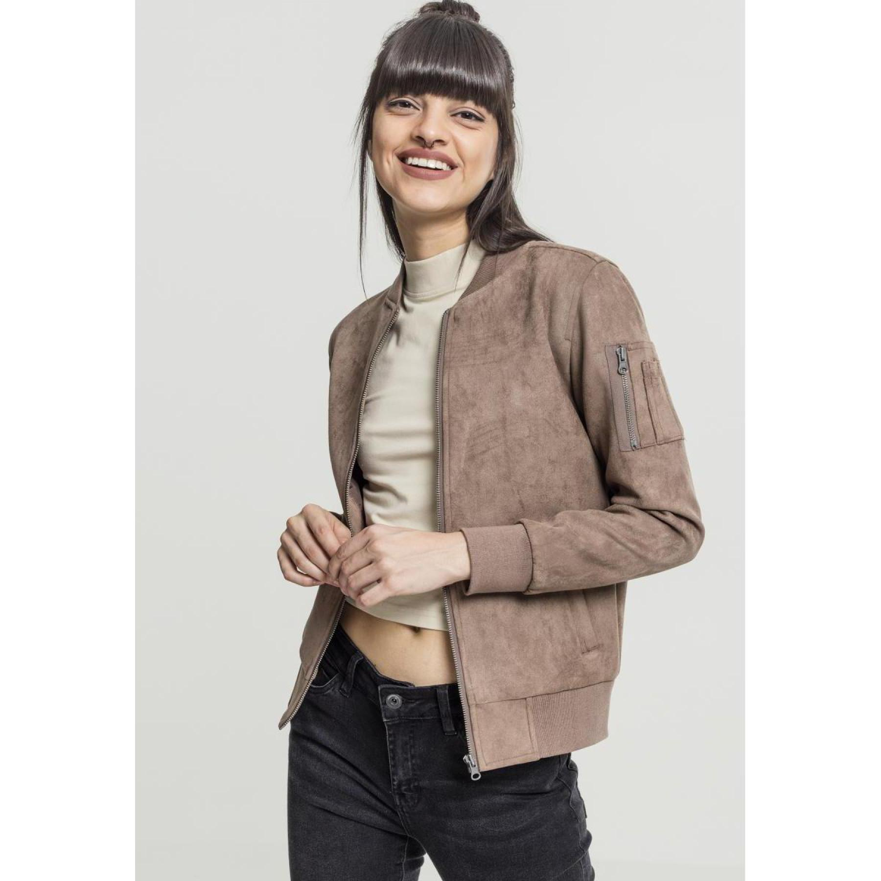 Jacket woman Urban Classic imitation uede