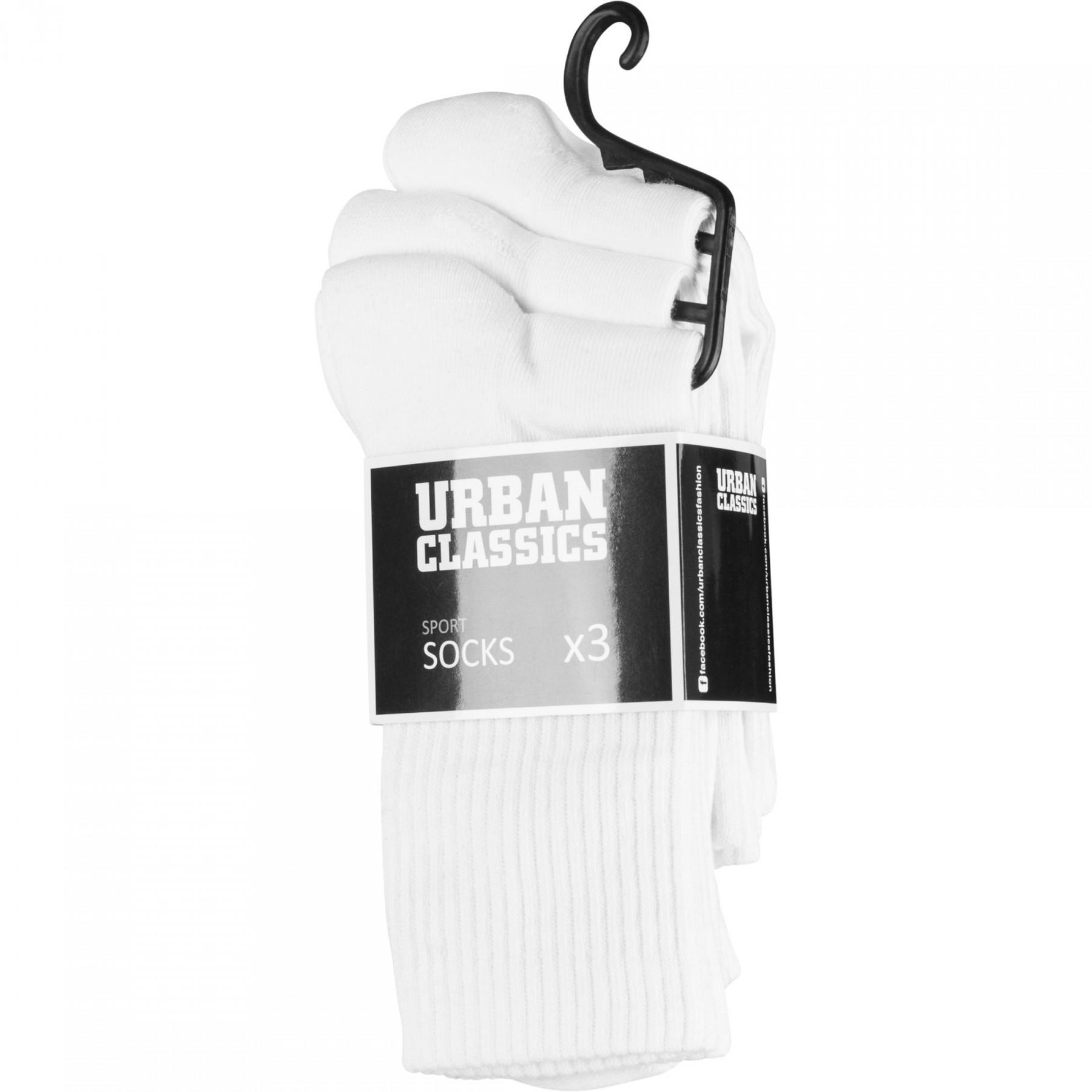 Pack of 3 Urban Classic Sport Socks