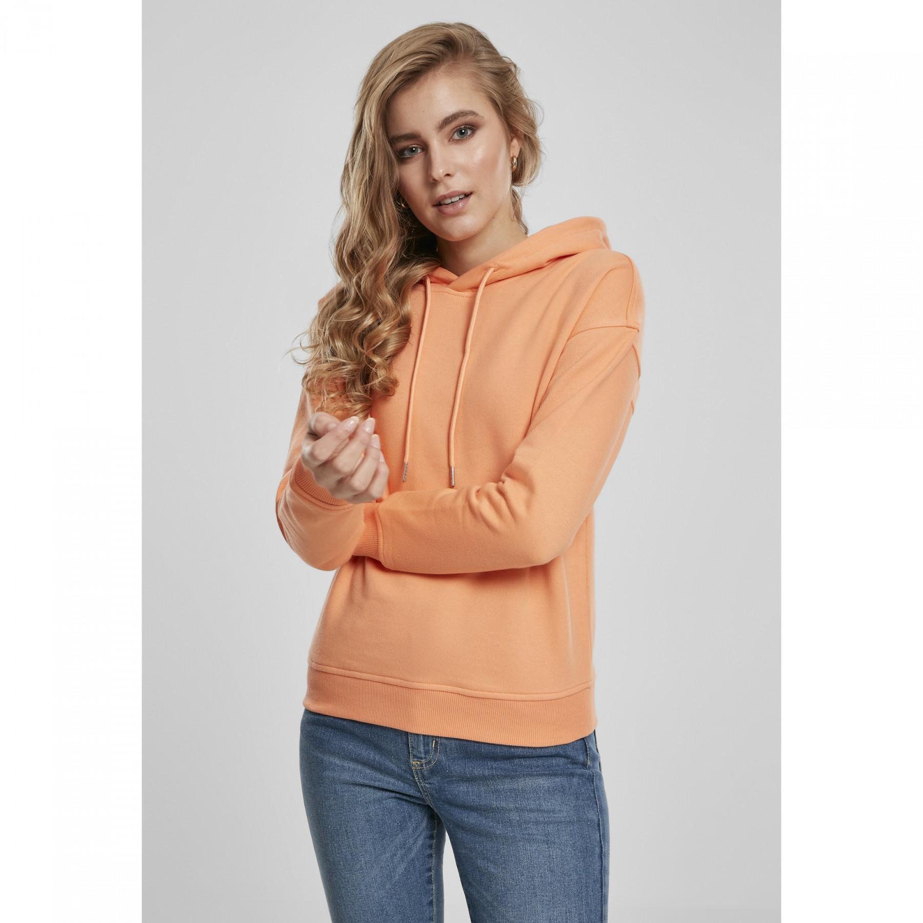 Women's Urban Classic Ribbed Sweatshirt