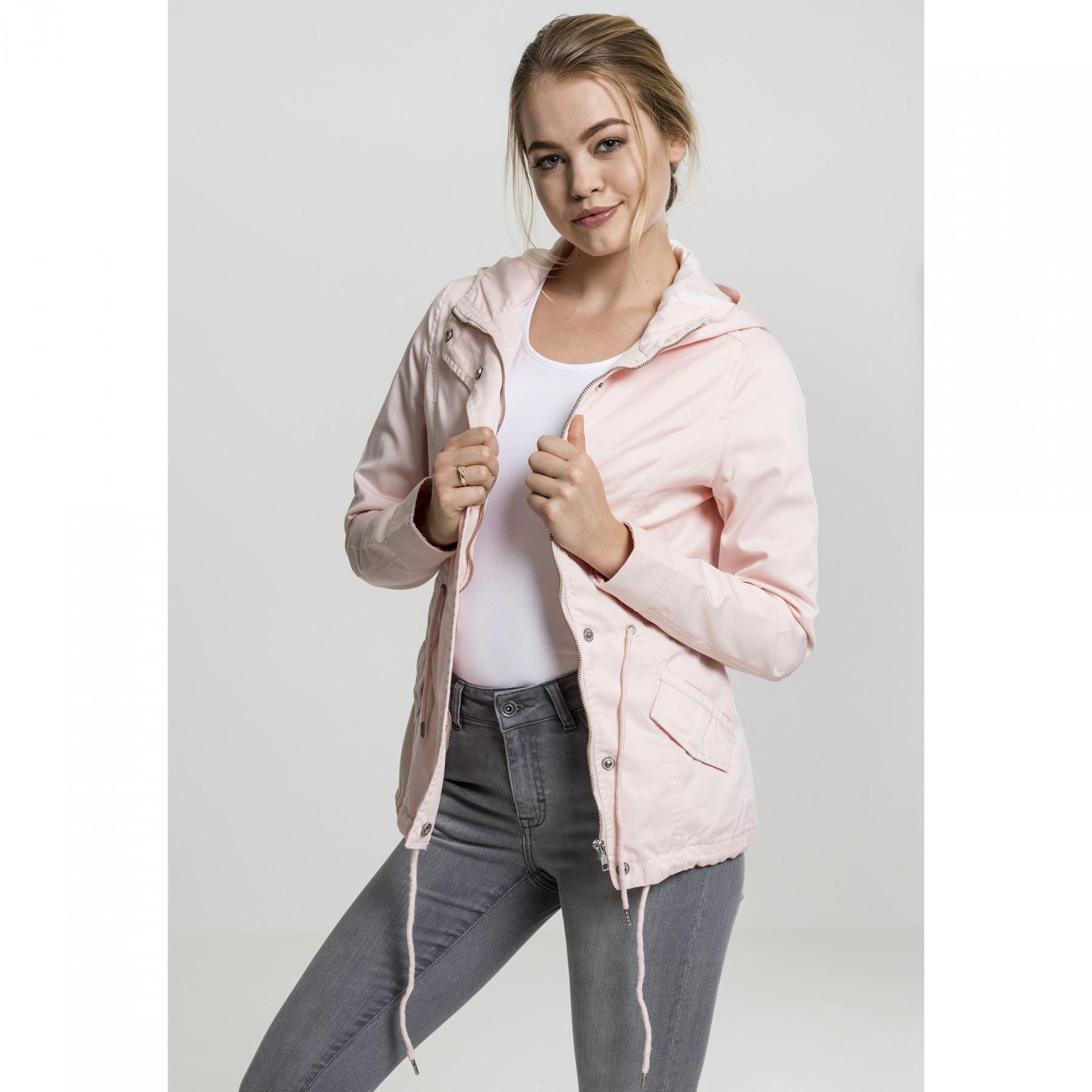 Women's parka Urban Classic basic cotton