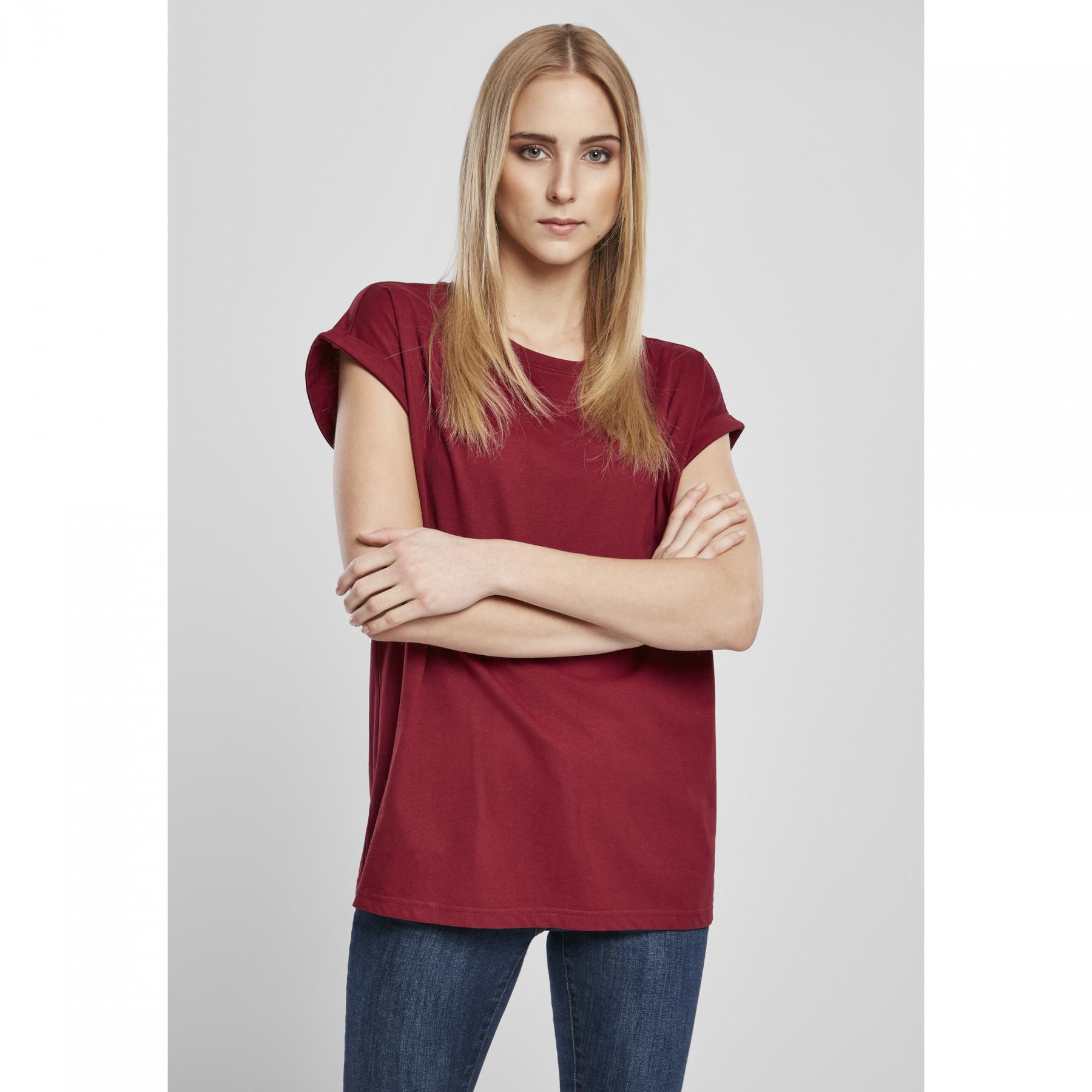 T-shirt woman Urban Classics organic extended shoulder