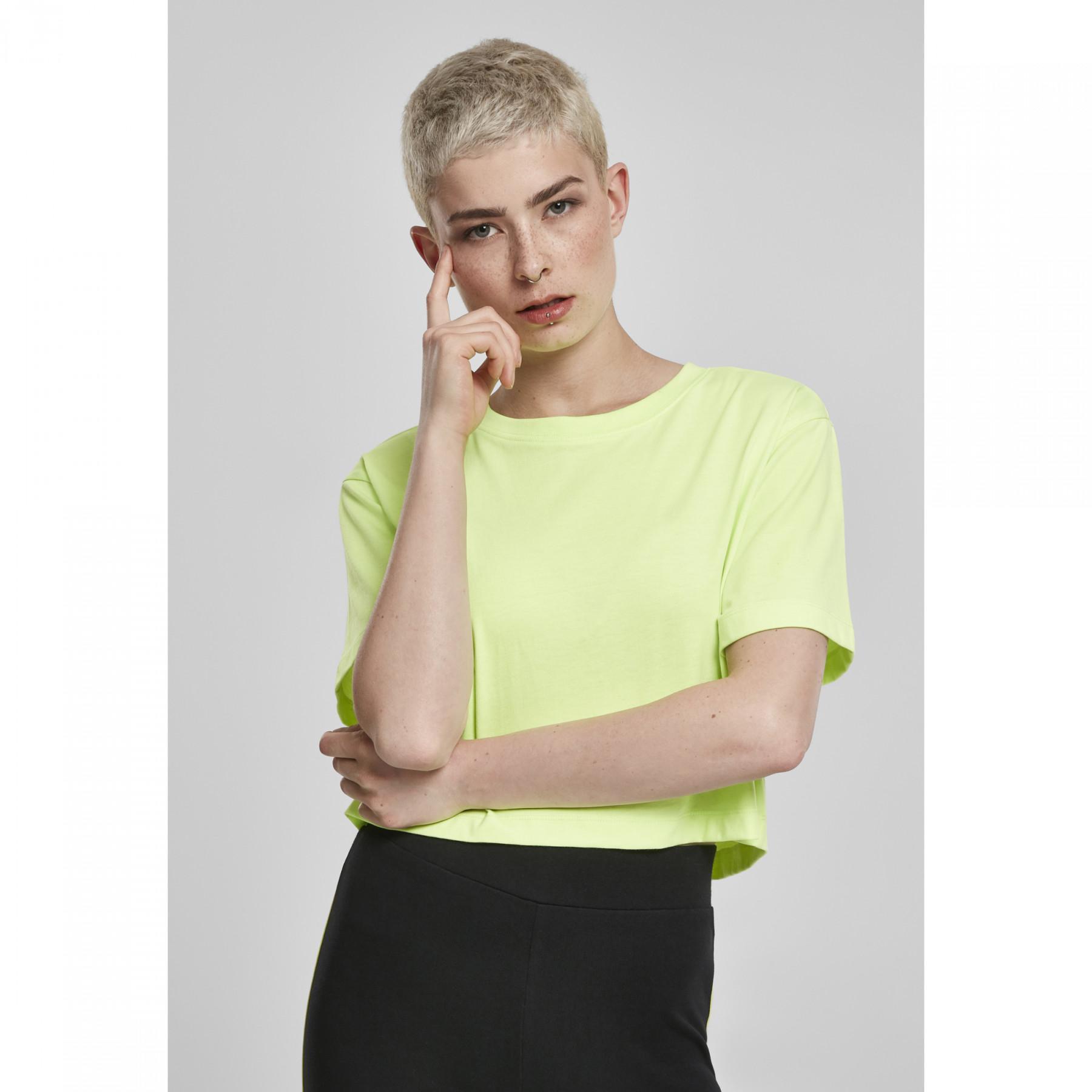 Woman's Urban Classic Oversized neon T-shirt