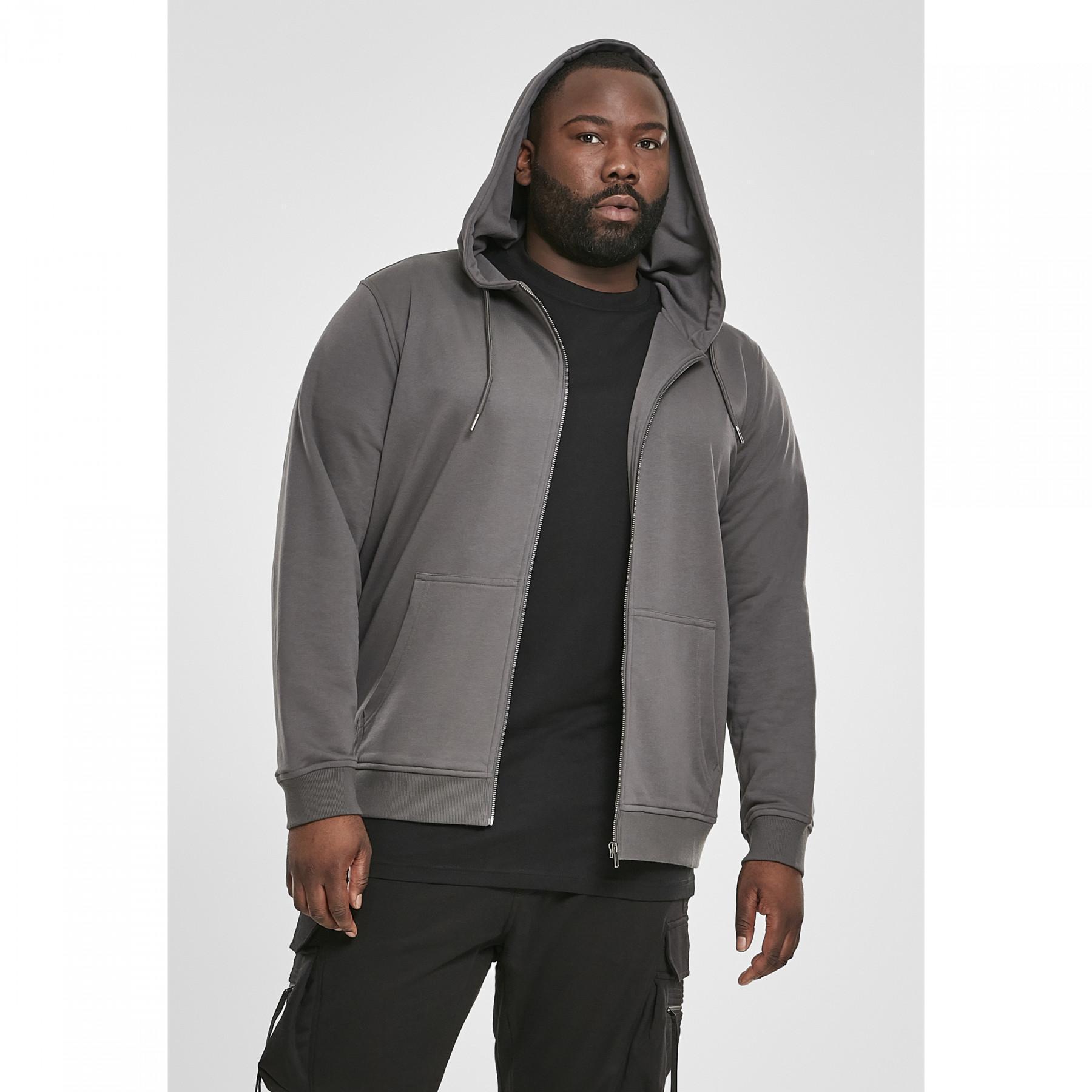 Sweatshirt Urban Classic basic terry zip GT