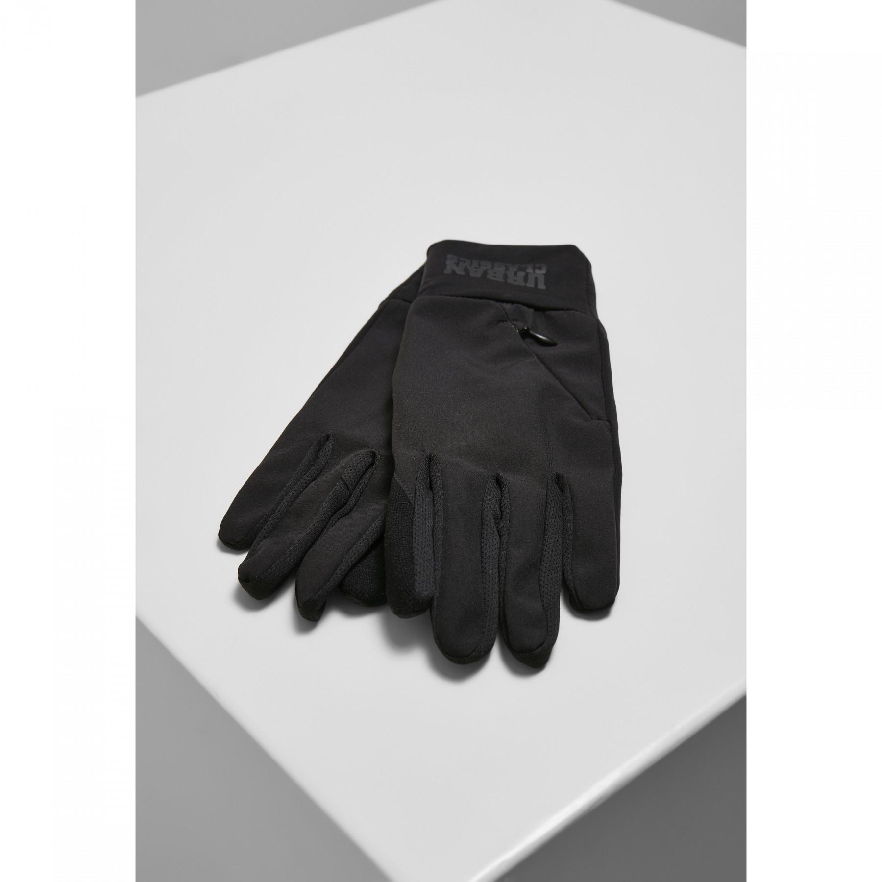 Urban Classics logo cuff performance gloves
