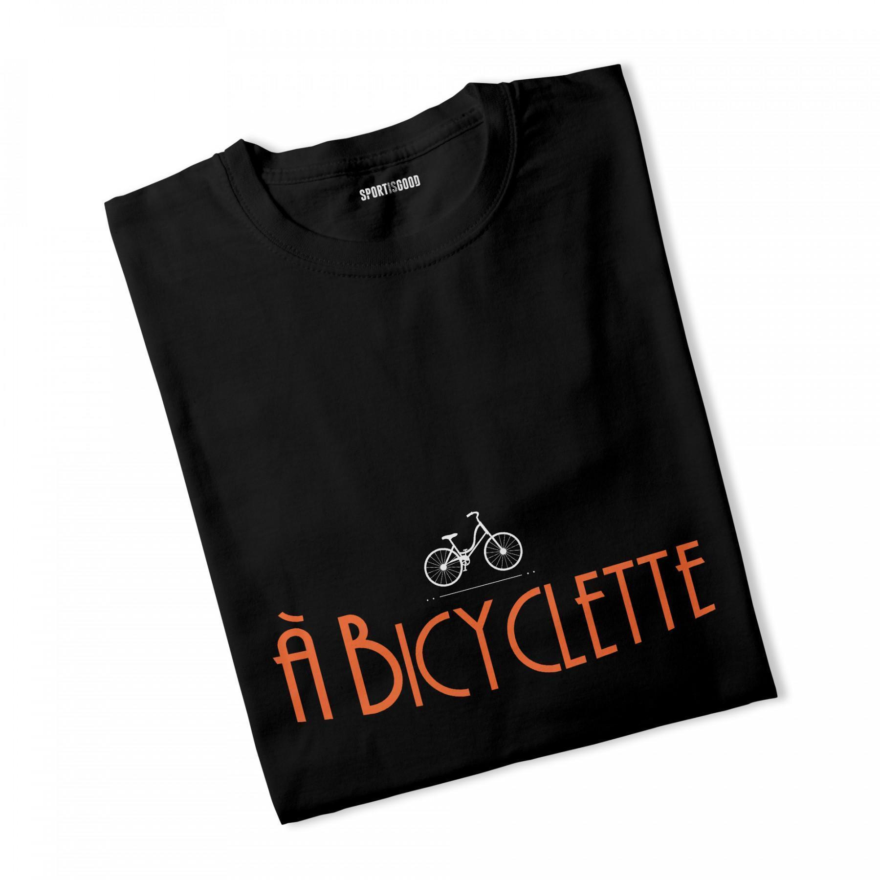 T-shirt femme à Bicyclette