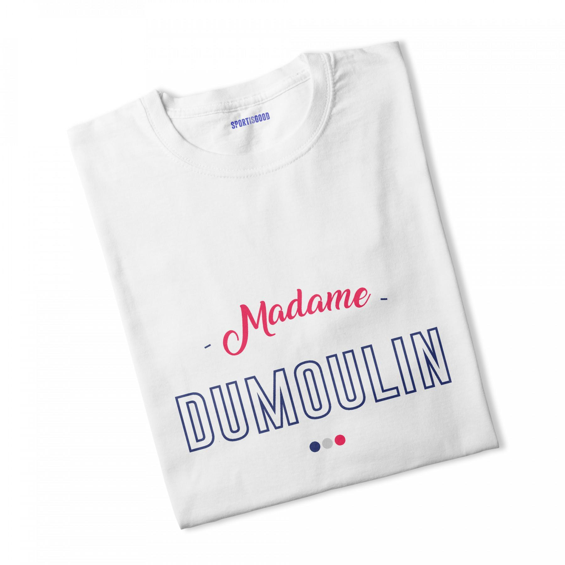 woman's T-shirt madame dumoulin